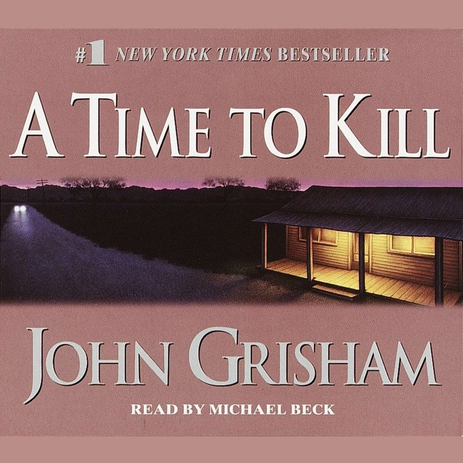 Printable A Time to Kill Audiobook Cover Art