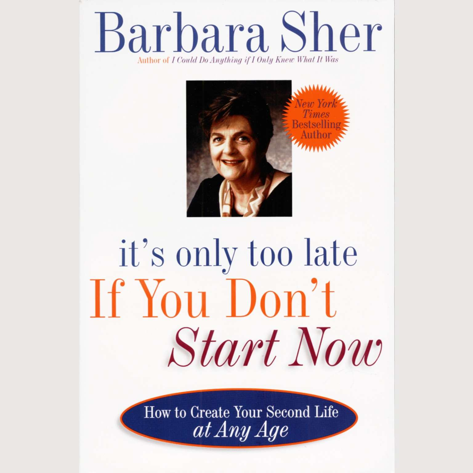 Printable It's Only Too Late If You Don't Start Now: How to Create Your Second Life at Any Age Audiobook Cover Art