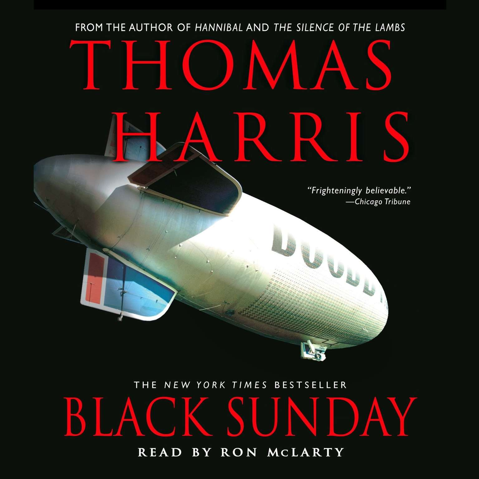 Printable Black Sunday Audiobook Cover Art