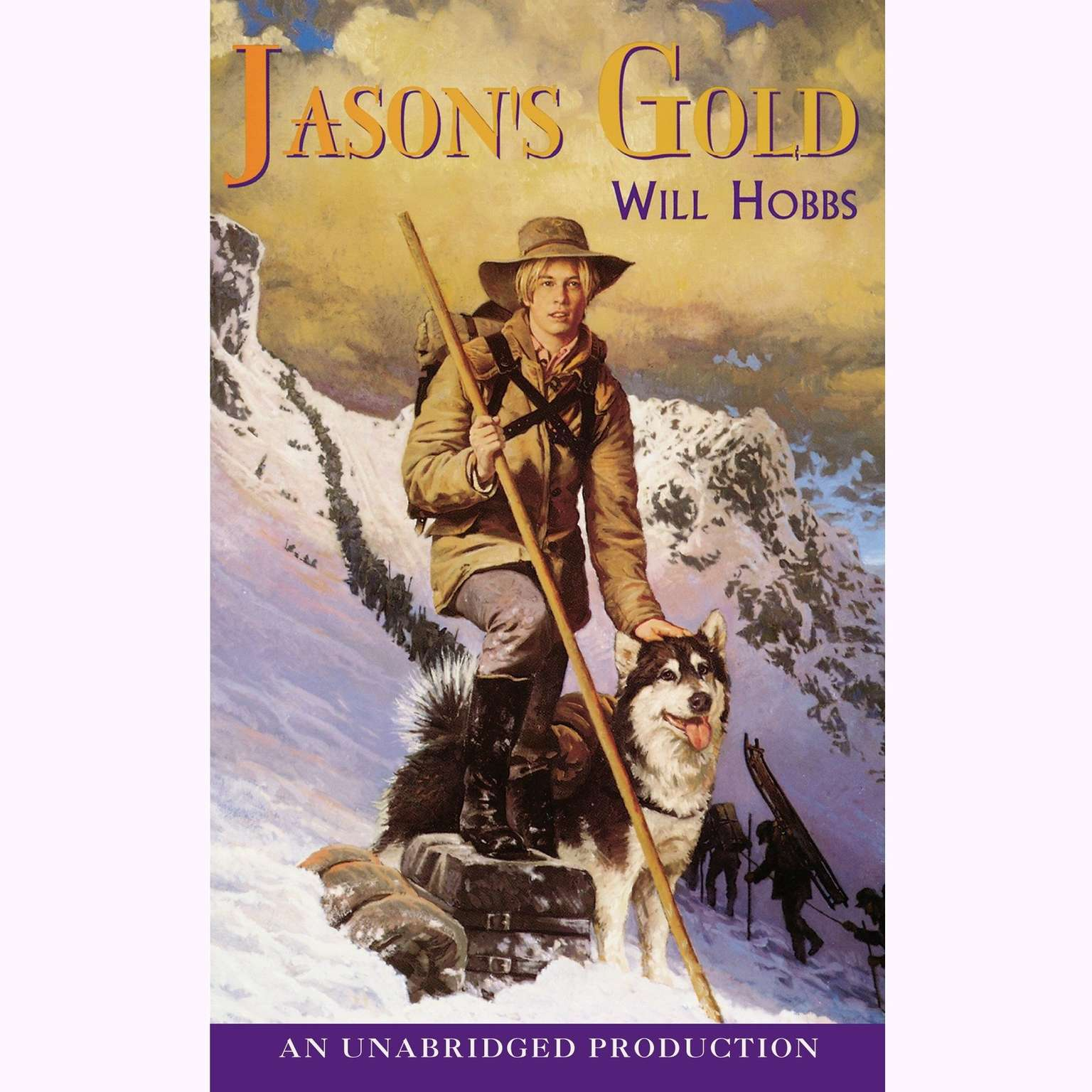Printable Jason's Gold Audiobook Cover Art