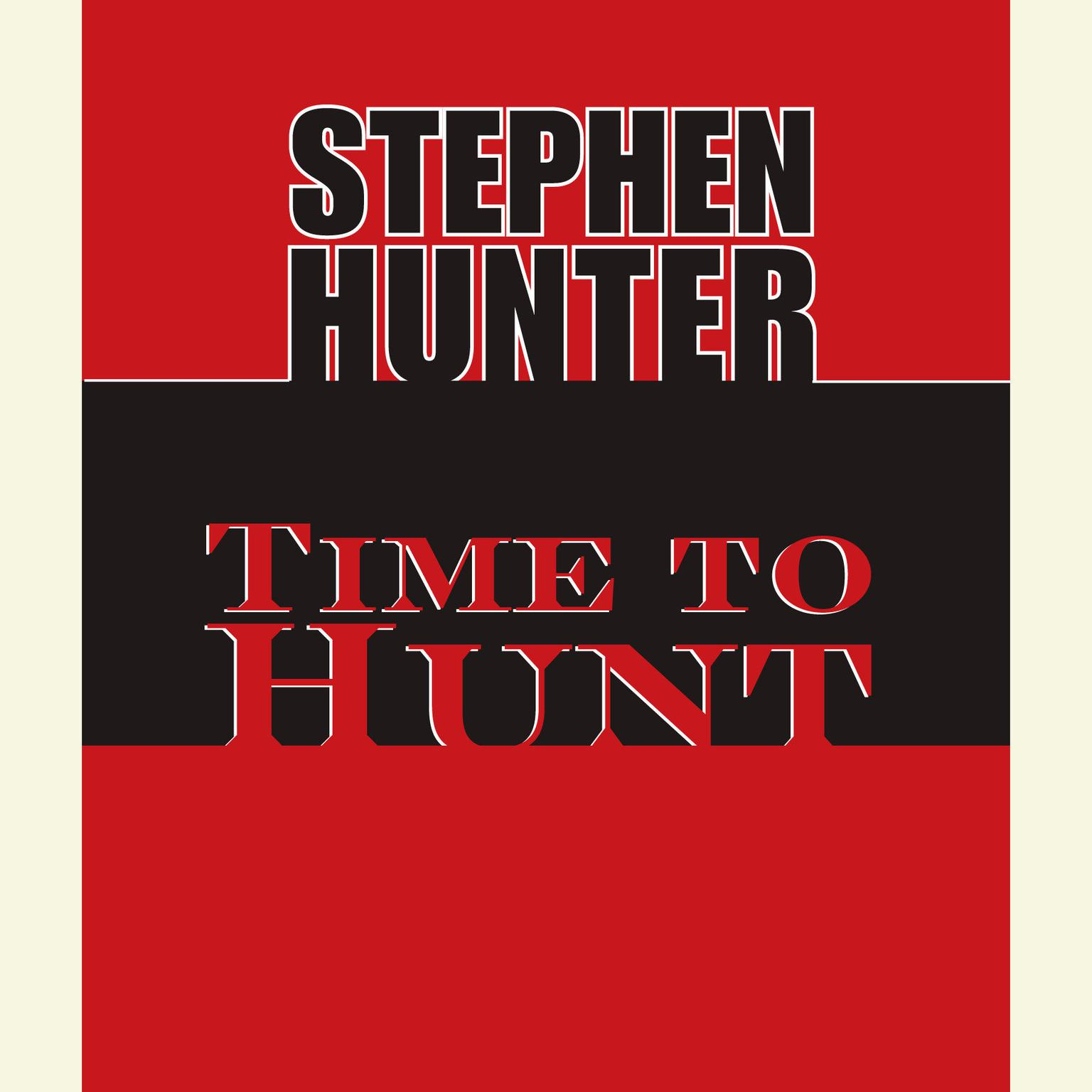 Printable Time to Hunt Audiobook Cover Art