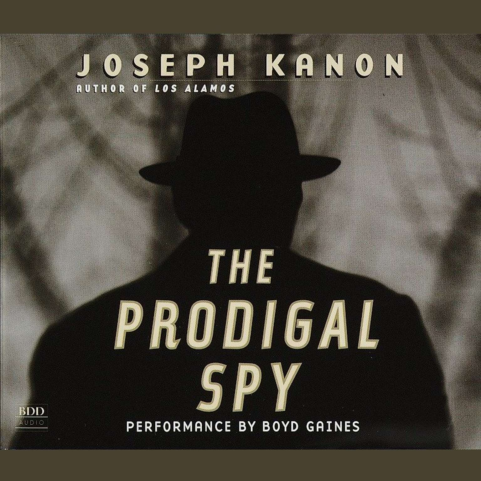 Printable The Prodigal Spy: A Novel Audiobook Cover Art