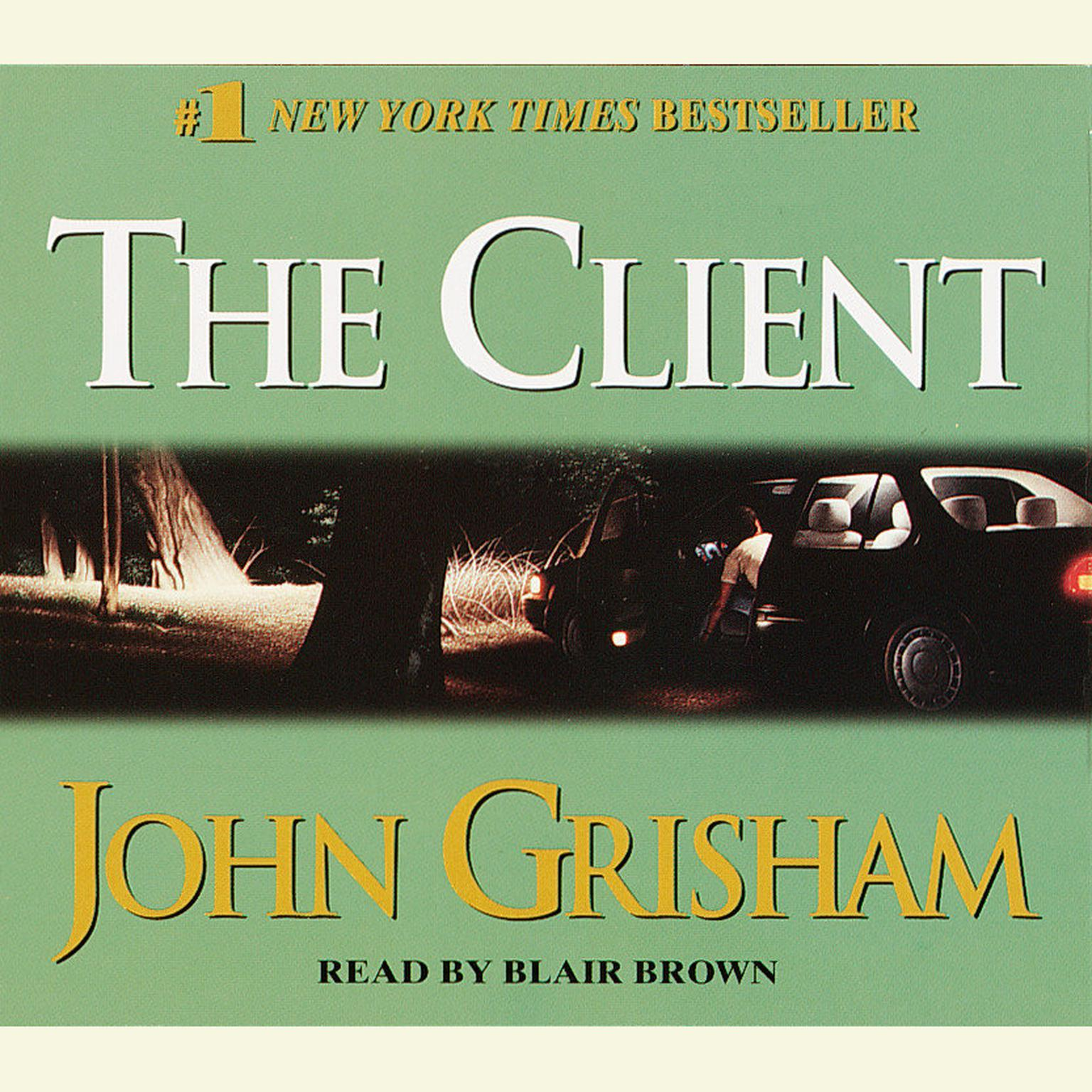 Printable The Client: A Novel Audiobook Cover Art