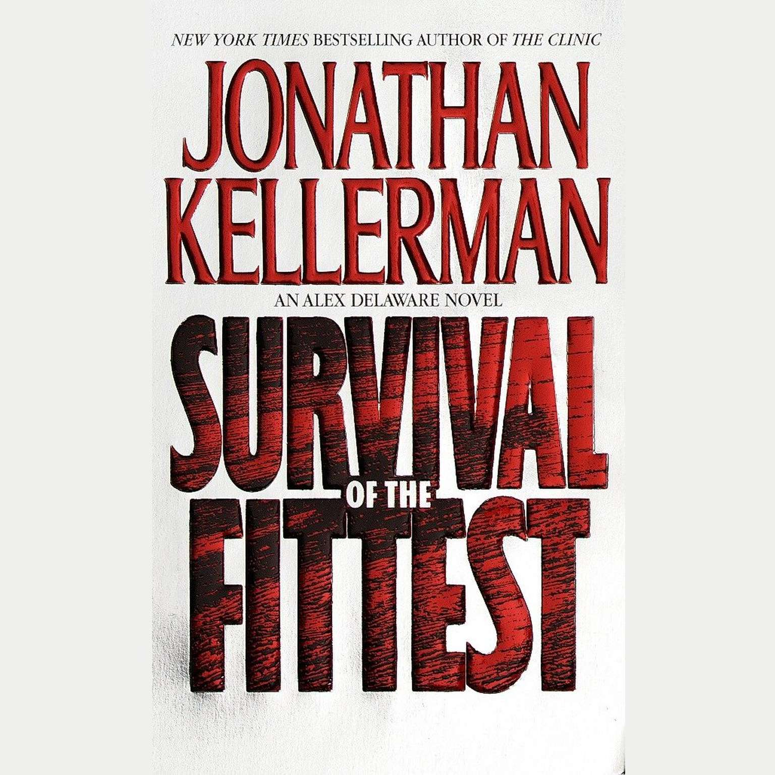 Printable Survival of the Fittest: An Alex Delaware Novel Audiobook Cover Art