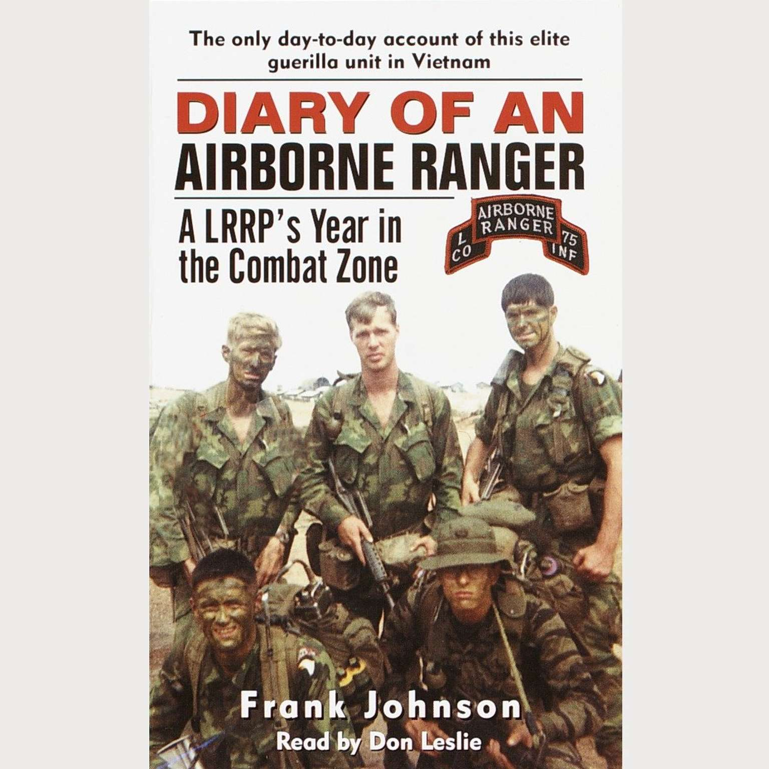 Printable Diary of an Airborne Ranger: A LRRP's Year in the Combat Zone Audiobook Cover Art