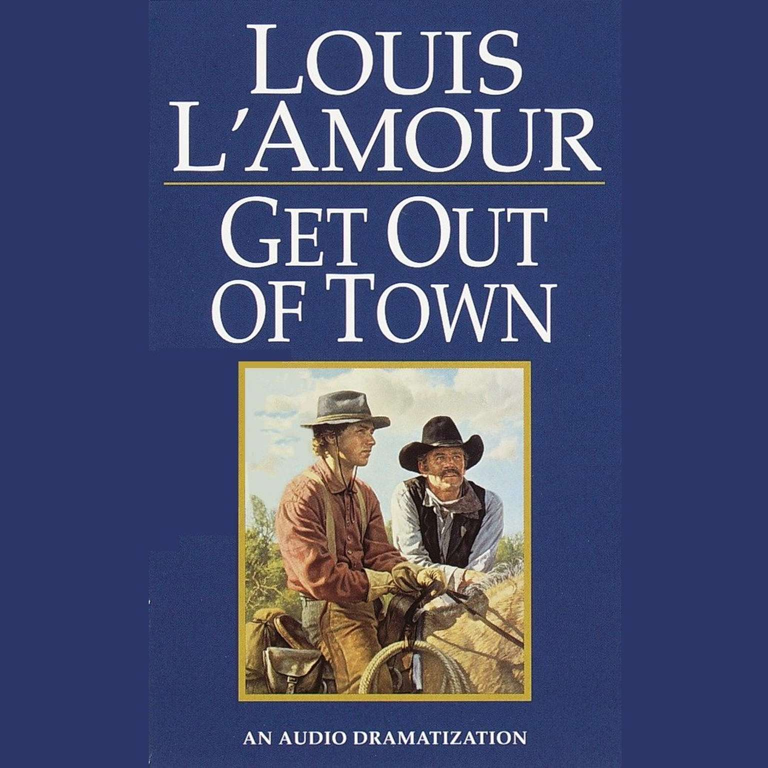 Printable Get Out of Town Audiobook Cover Art