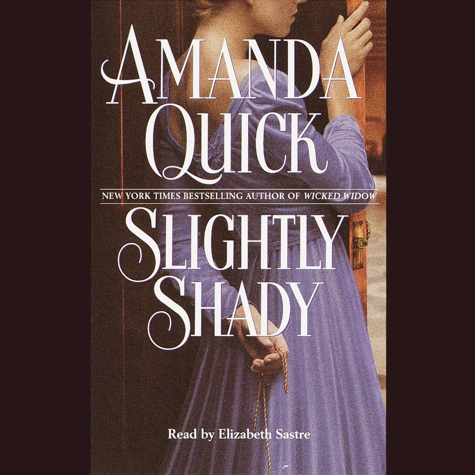 Printable Slightly Shady Audiobook Cover Art