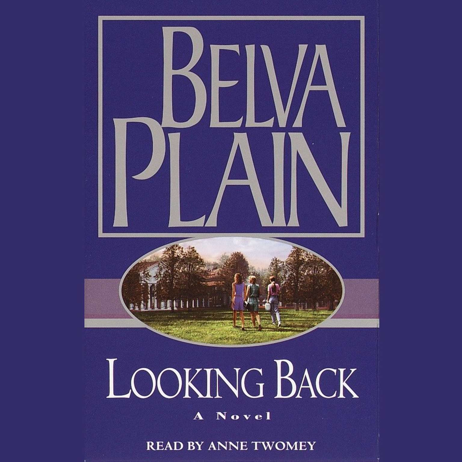 Printable Looking Back Audiobook Cover Art