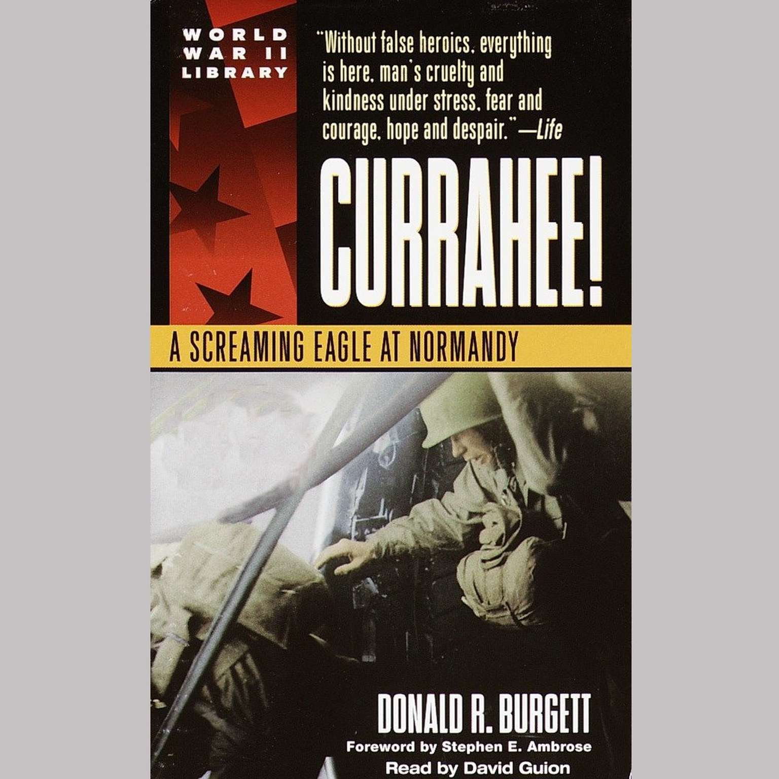 Printable Currahee!: A Screaming Eagle at Normandy Audiobook Cover Art