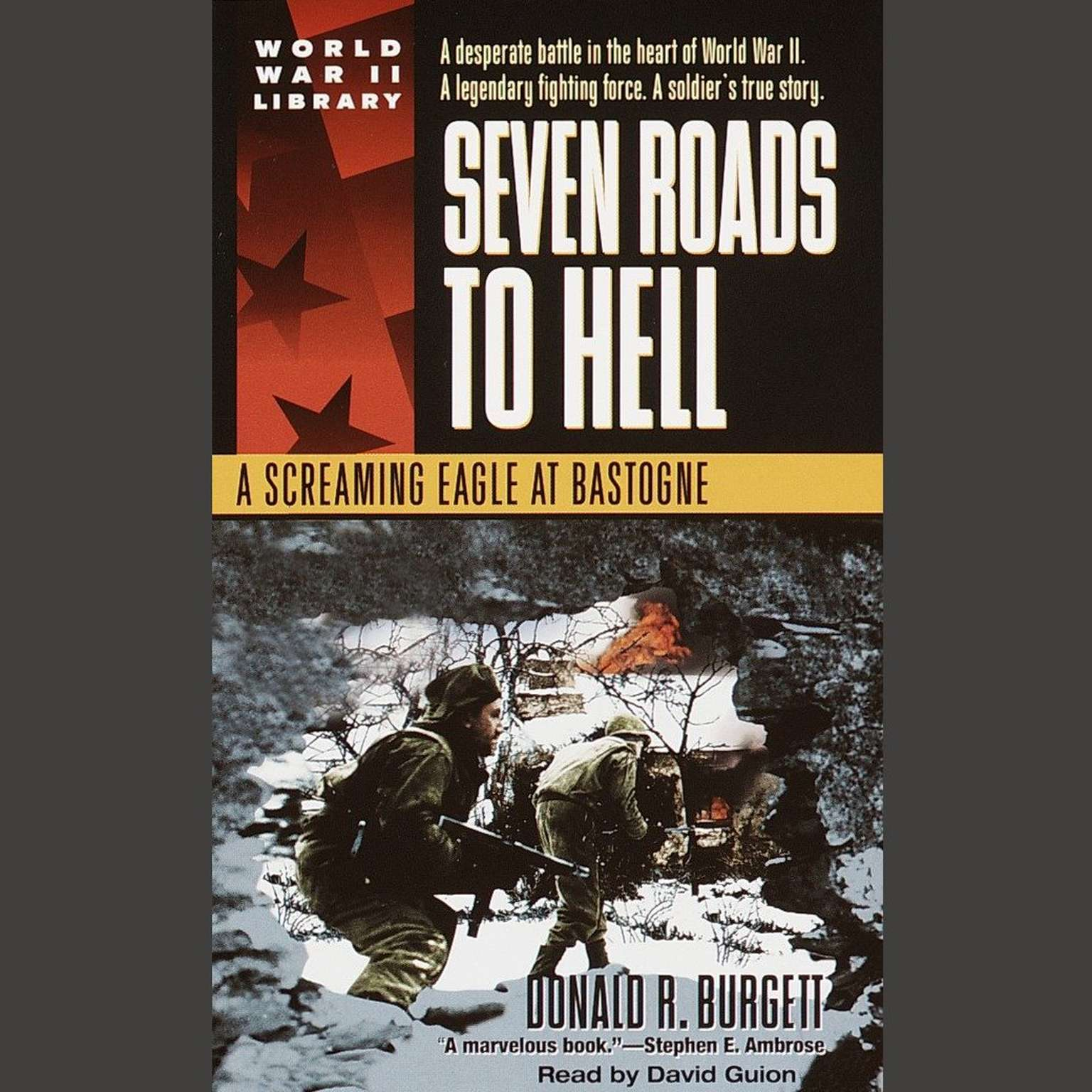 Printable Seven Roads to Hell: A Screaming Eagle at Bastogne Audiobook Cover Art