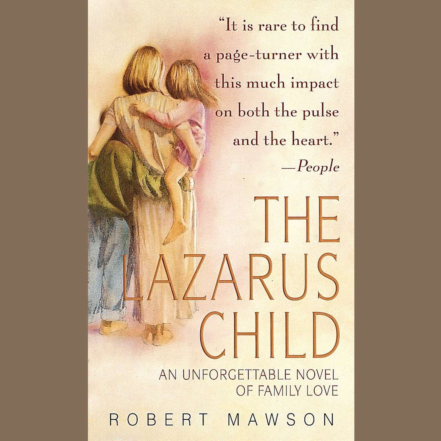 Printable The Lazarus Child Audiobook Cover Art