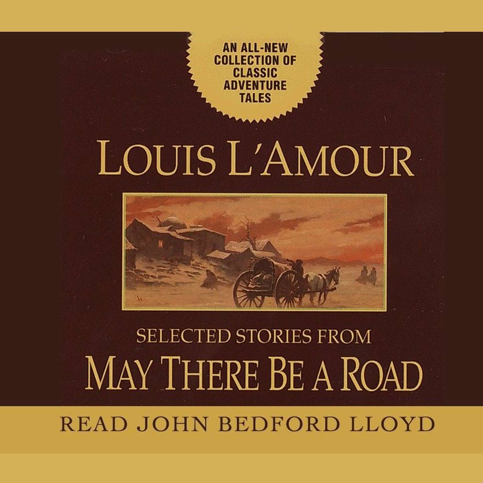 Printable May There Be a Road Audiobook Cover Art