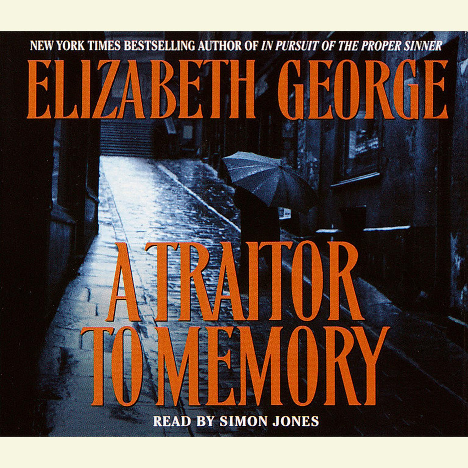 Printable A Traitor to Memory Audiobook Cover Art
