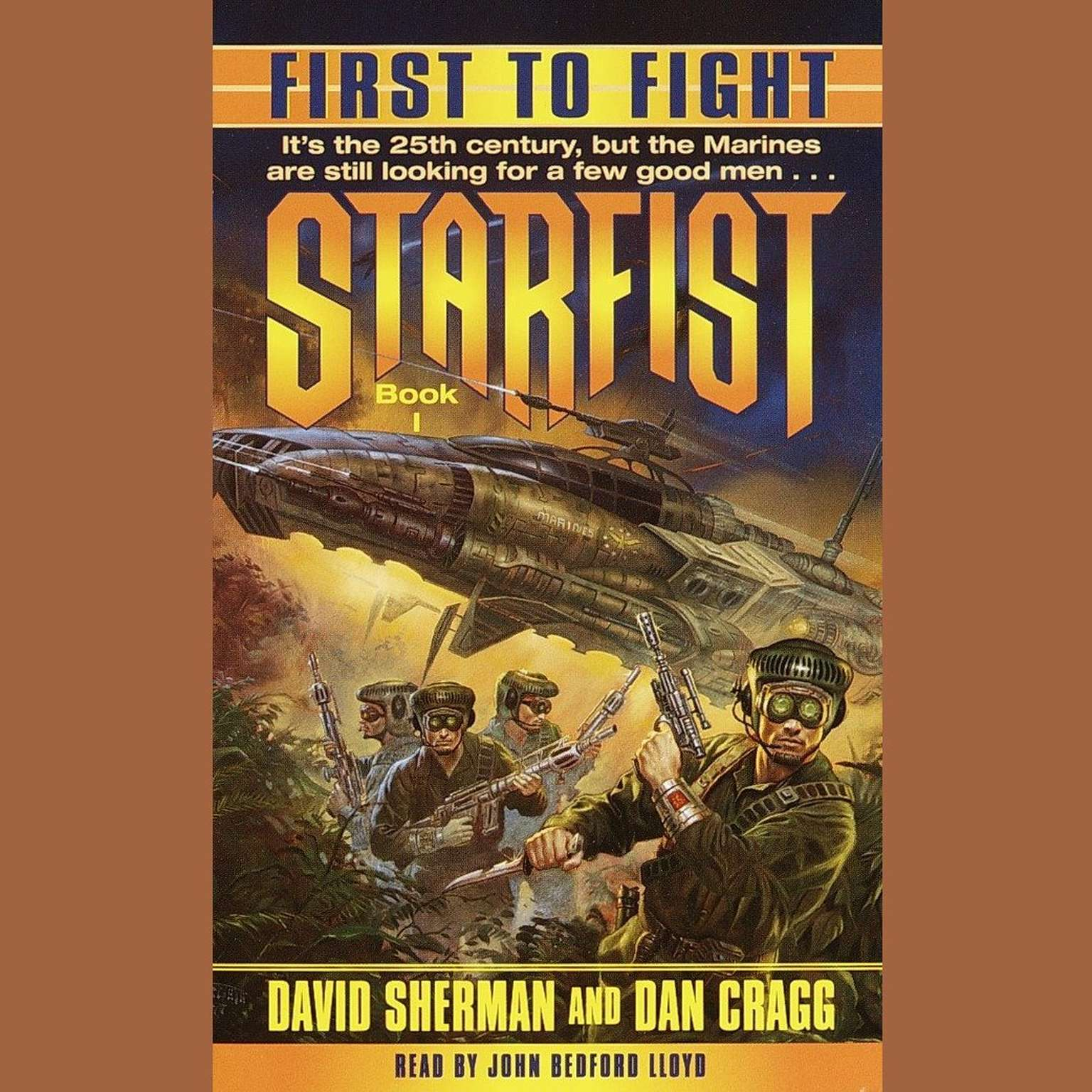 Printable First to Fight: Starfist, Book I Audiobook Cover Art