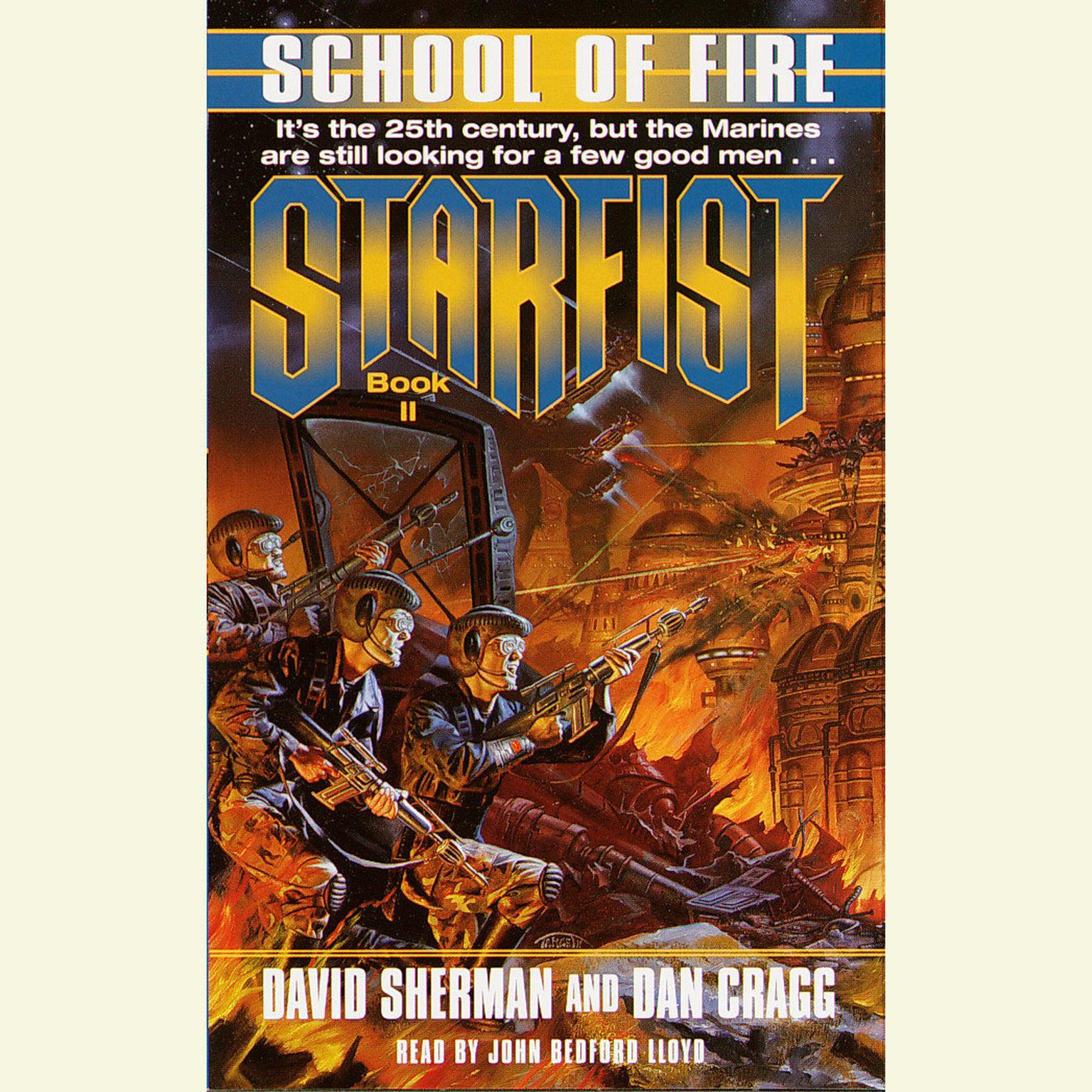 Printable StarFist: School of Fire Audiobook Cover Art