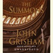 The Summons Audiobook, by John Grisham