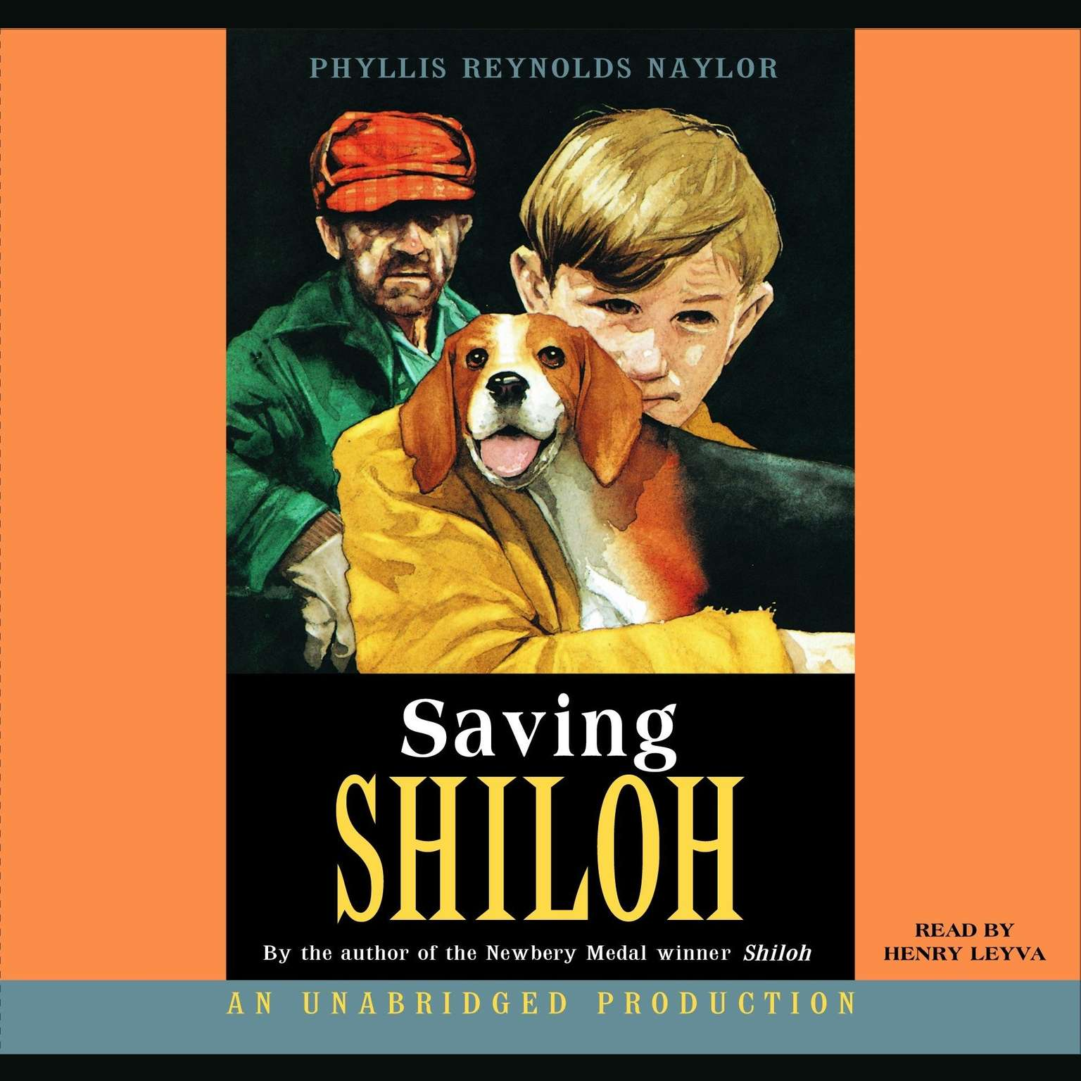 Printable Saving Shiloh Audiobook Cover Art