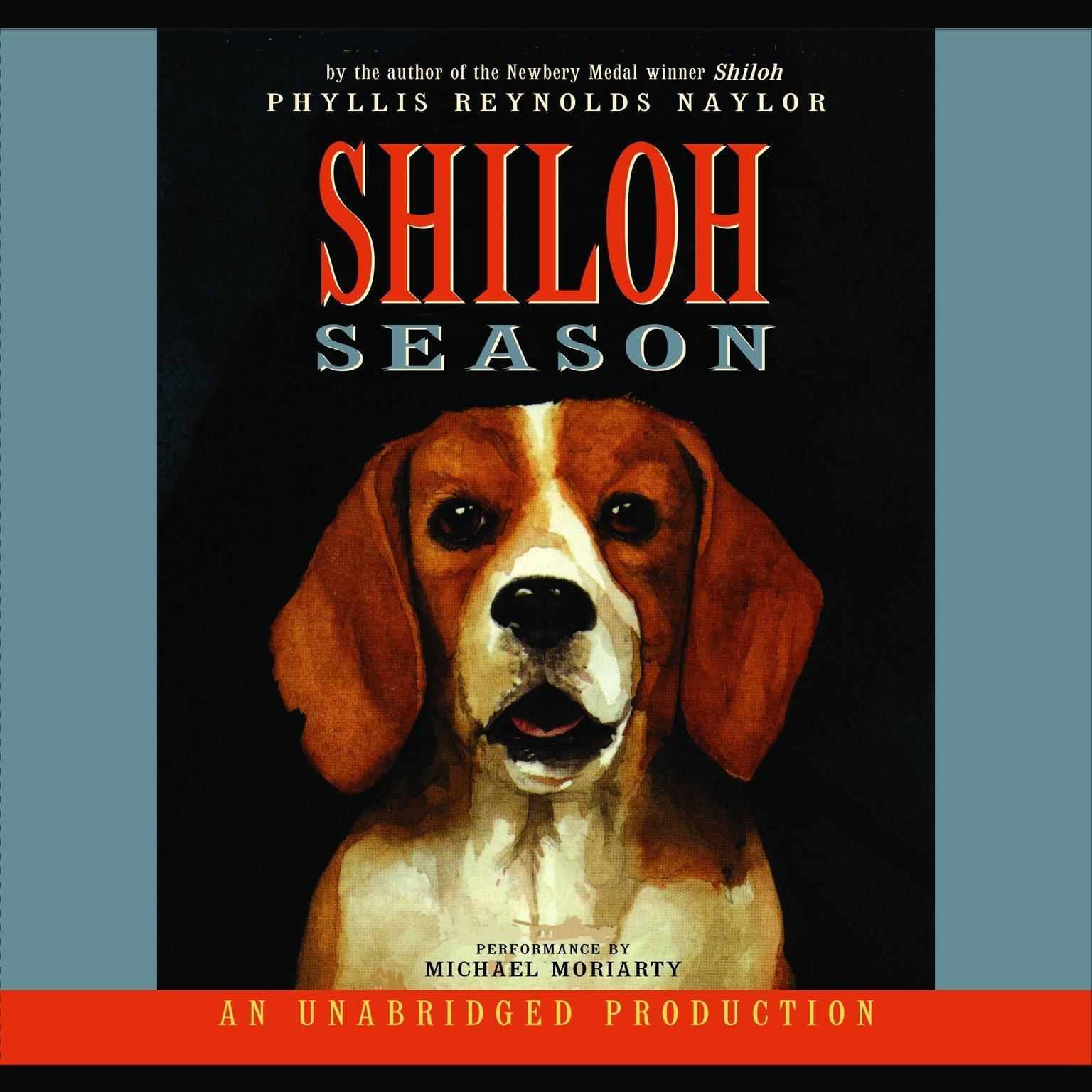 Printable Shiloh Season Audiobook Cover Art