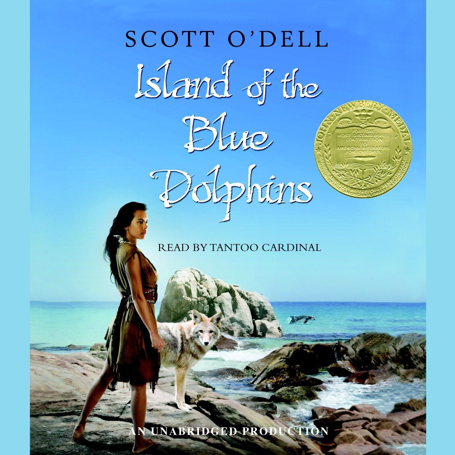 Printable Island of the Blue Dolphins Audiobook Cover Art
