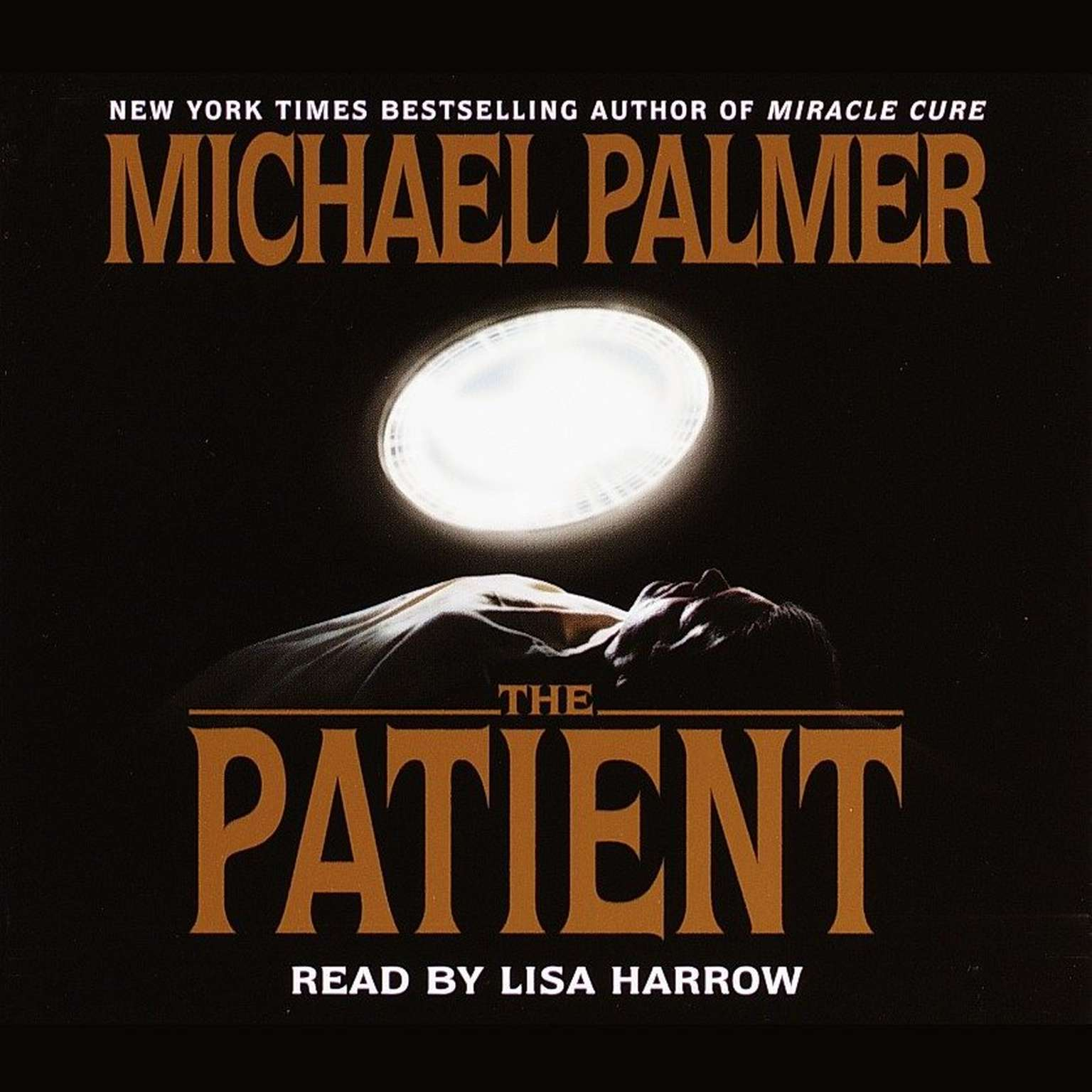Printable The Patient Audiobook Cover Art
