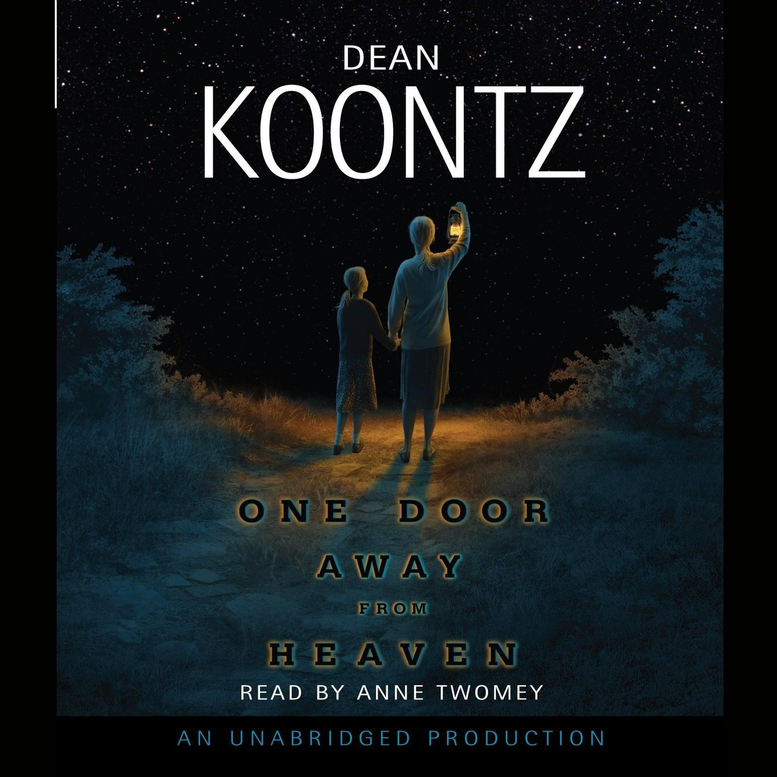 Printable One Door Away From Heaven Audiobook Cover Art