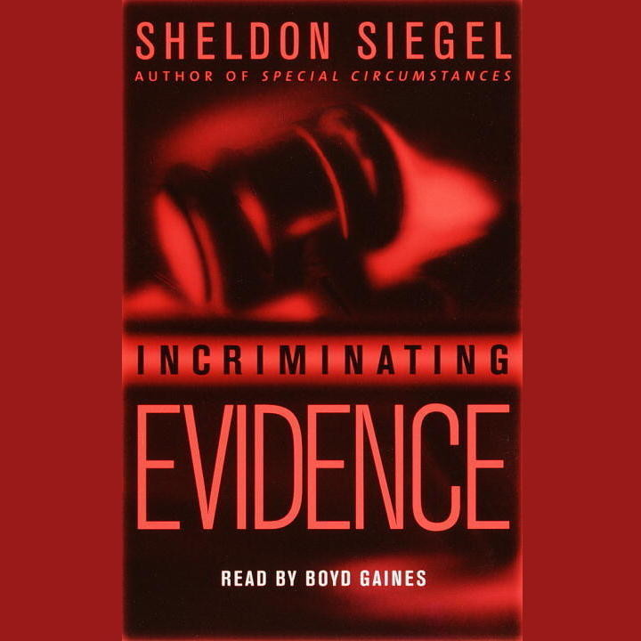 Printable Incriminating Evidence Audiobook Cover Art