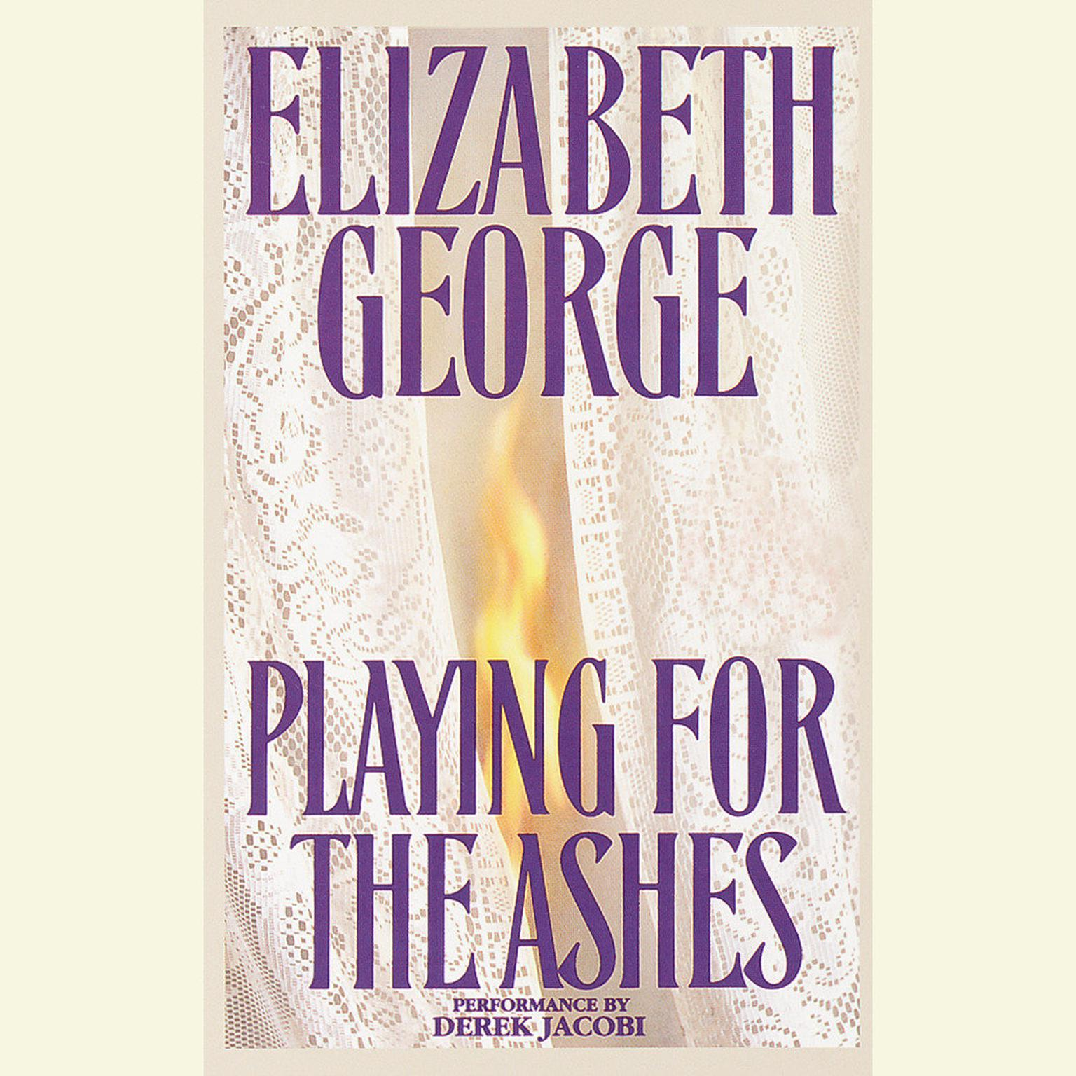 Printable Playing for the Ashes Audiobook Cover Art