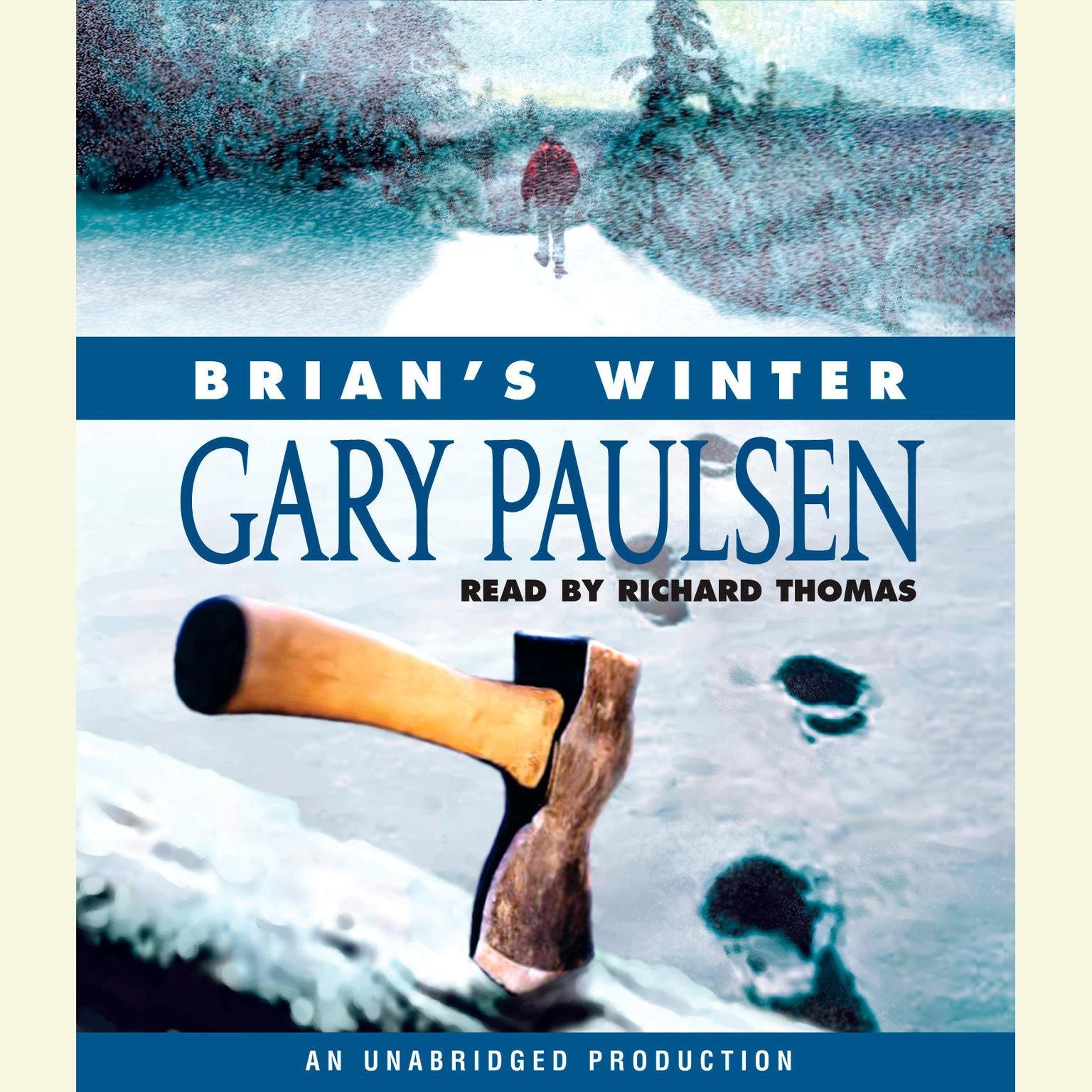 Printable Brian's Winter Audiobook Cover Art