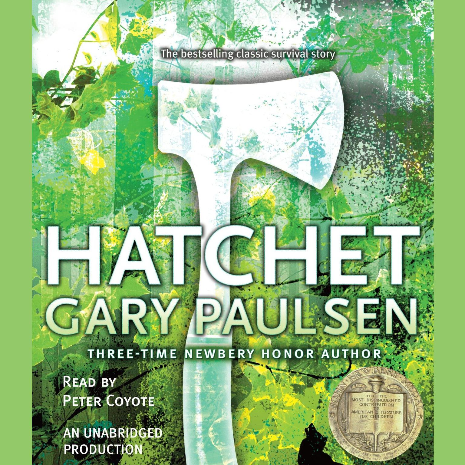 Printable Hatchet Audiobook Cover Art