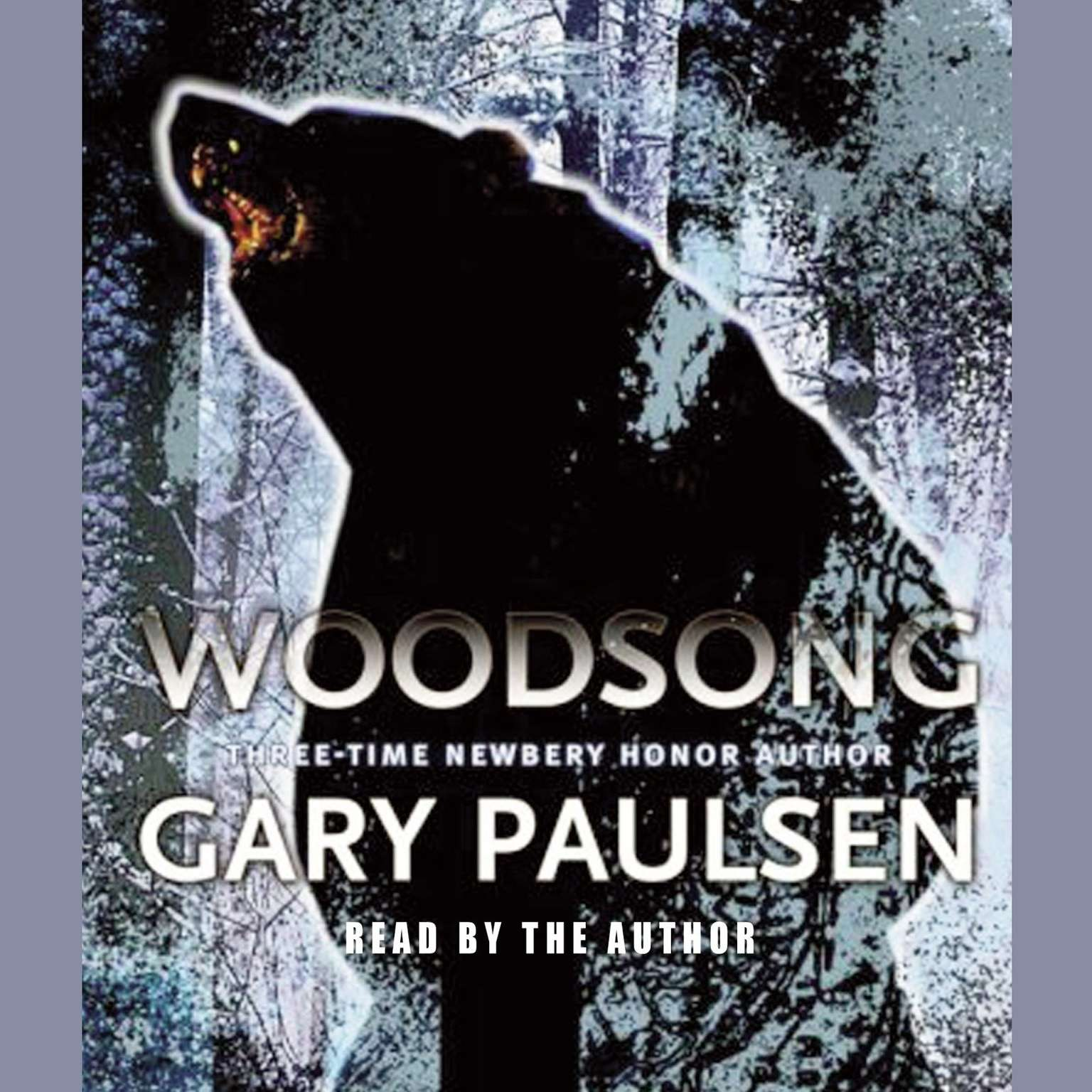 Printable Woodsong Audiobook Cover Art