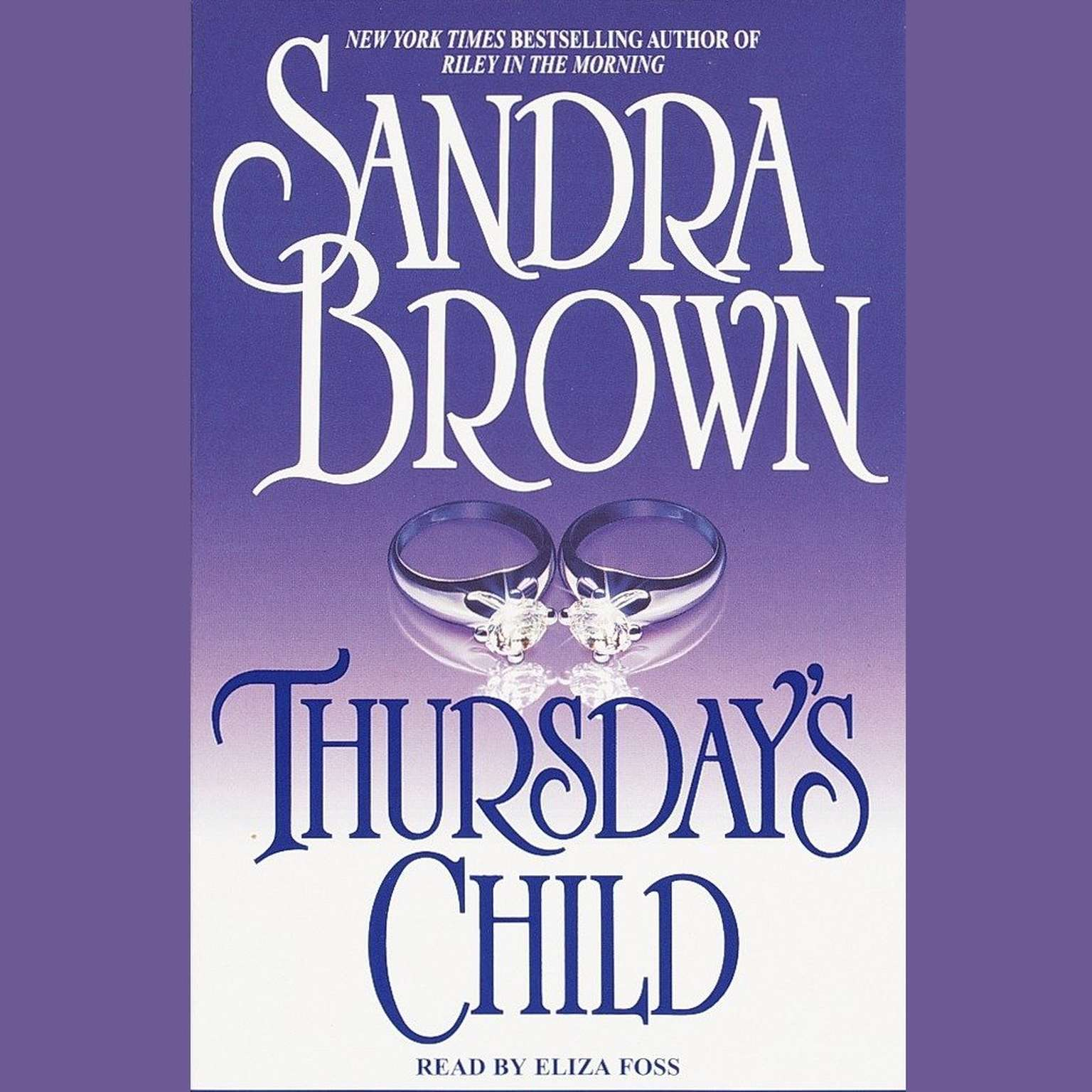 Printable Thursday's Child Audiobook Cover Art