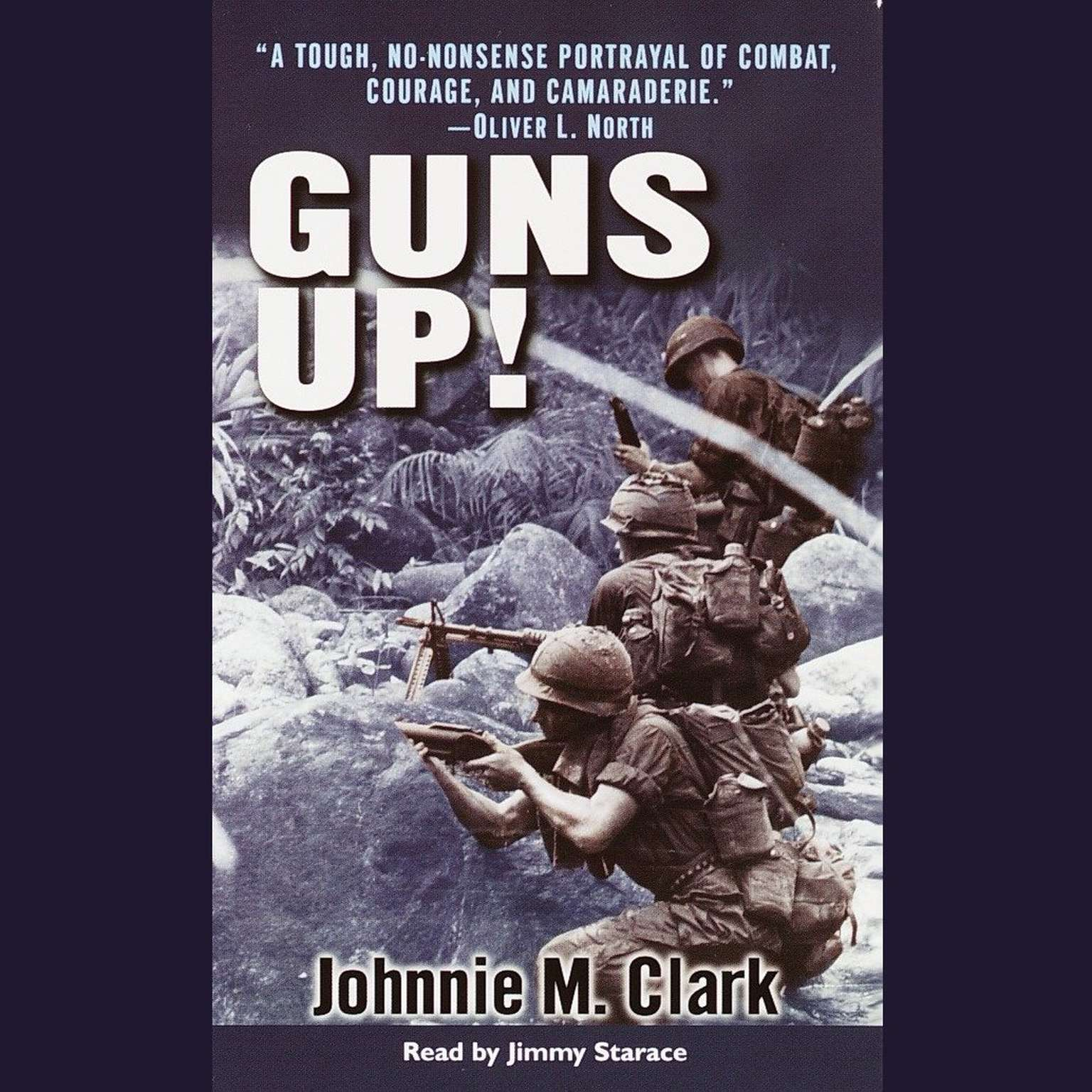 Printable Guns Up!: A Firsthand Account of the Vietnam War Audiobook Cover Art
