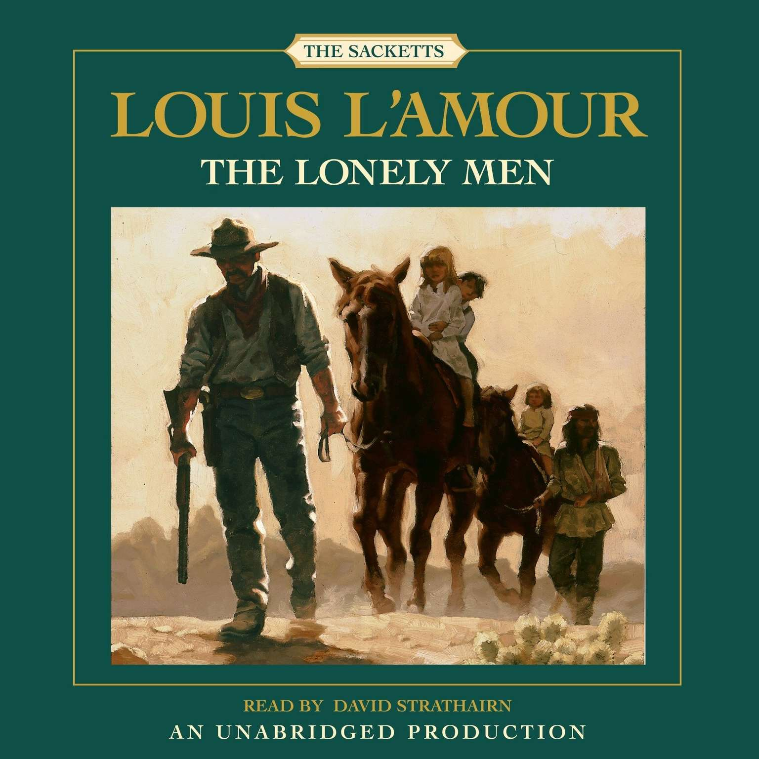 Printable The Lonely Men Audiobook Cover Art