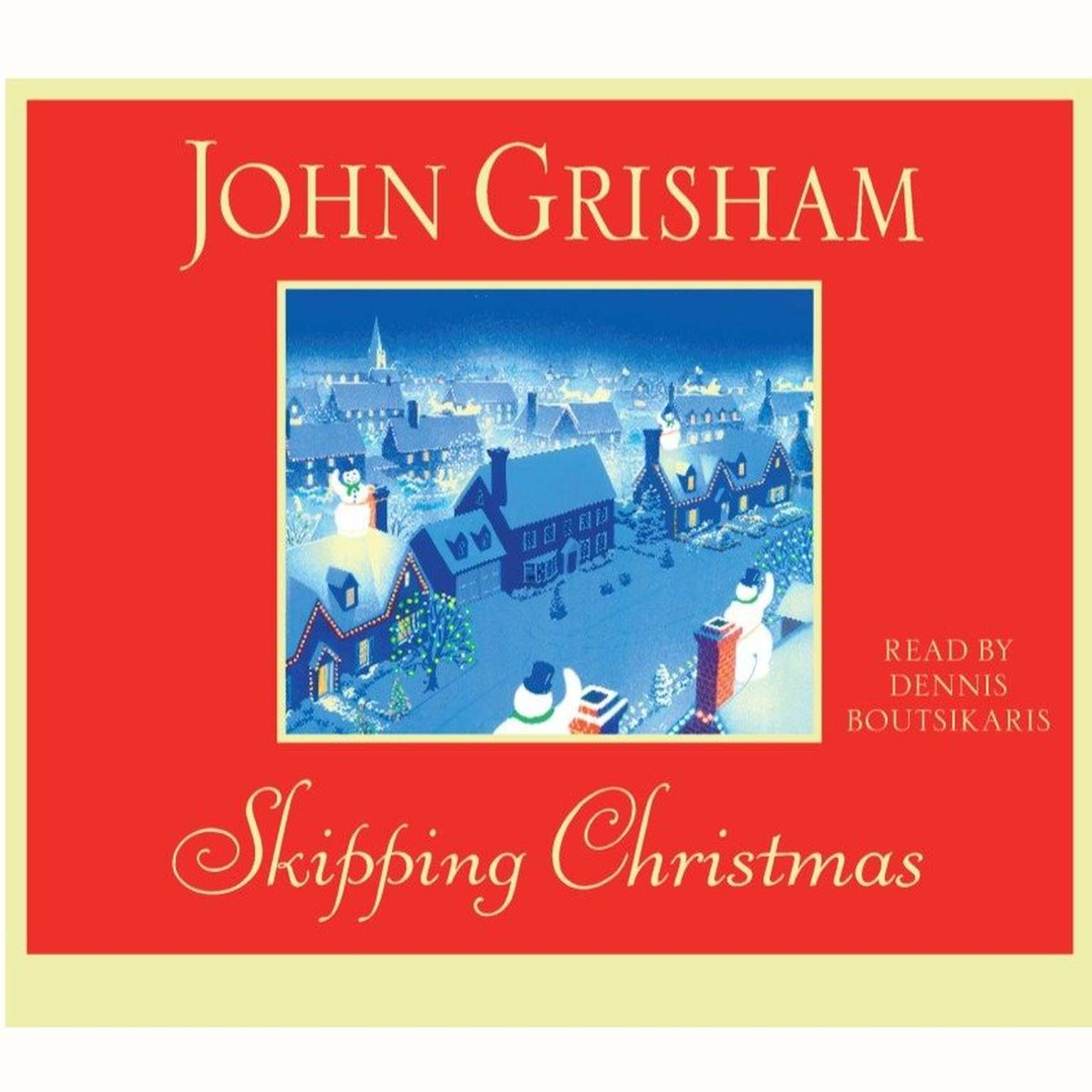 Printable Skipping Christmas: A Novel Audiobook Cover Art