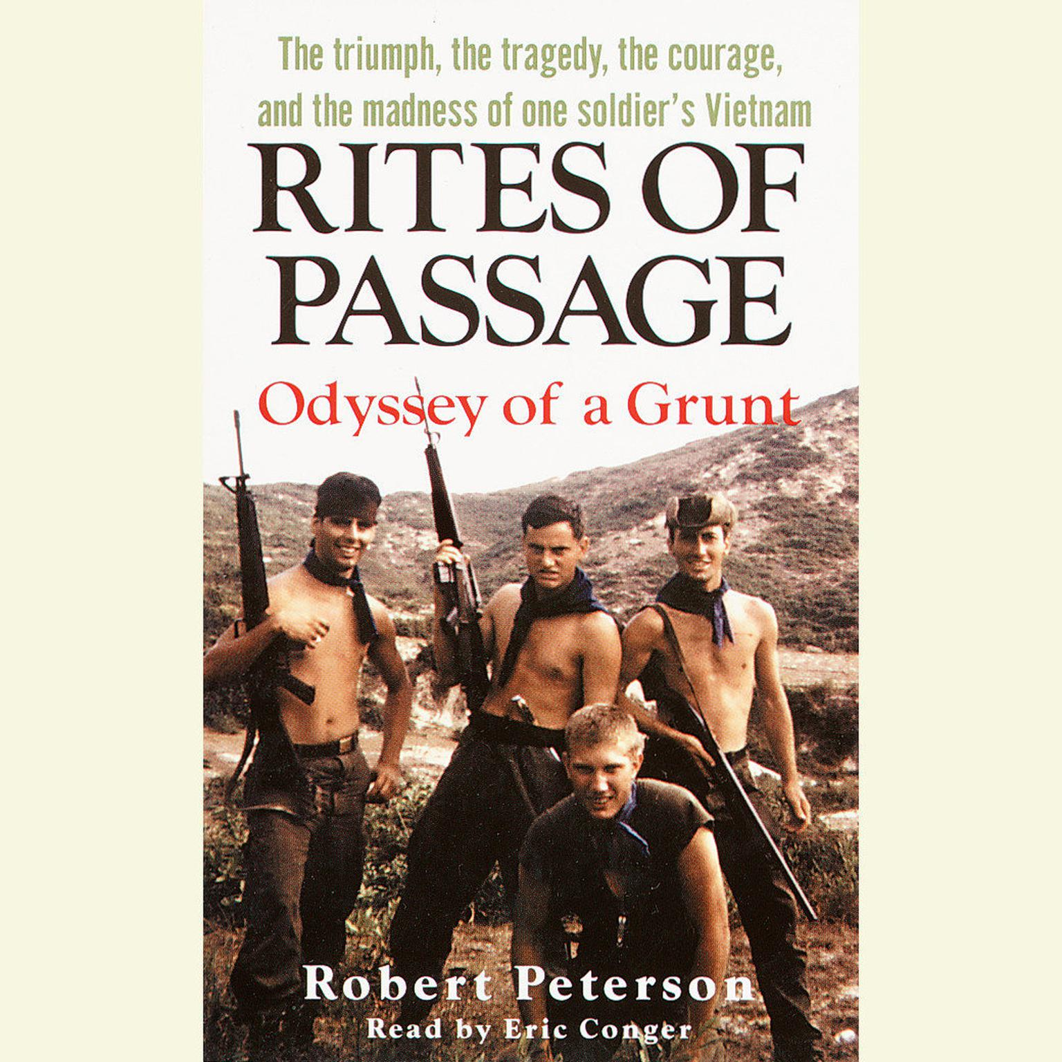 Printable Rites of Passage: Odyssey of a Grunt Audiobook Cover Art