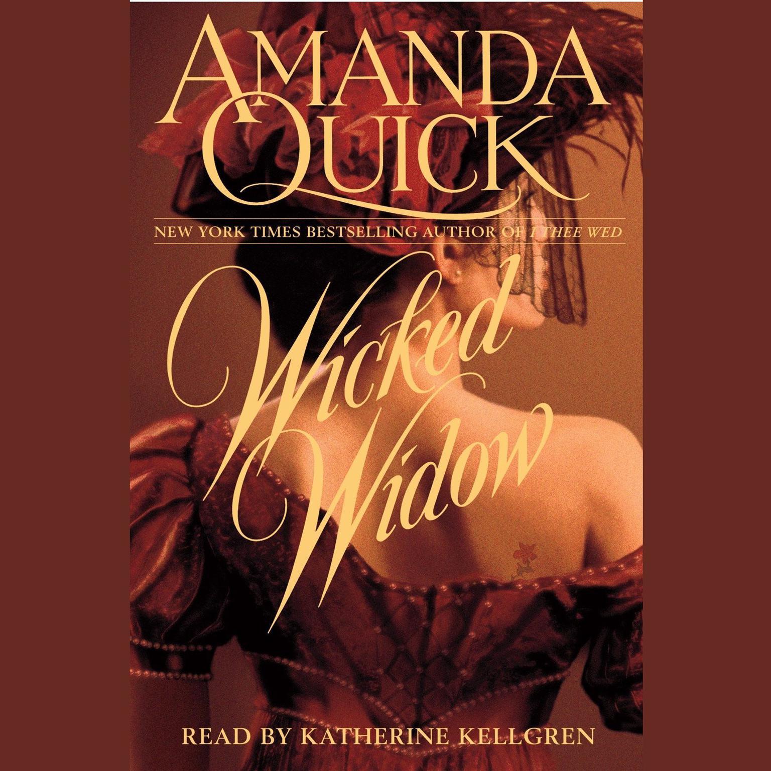 Printable Wicked Widow Audiobook Cover Art