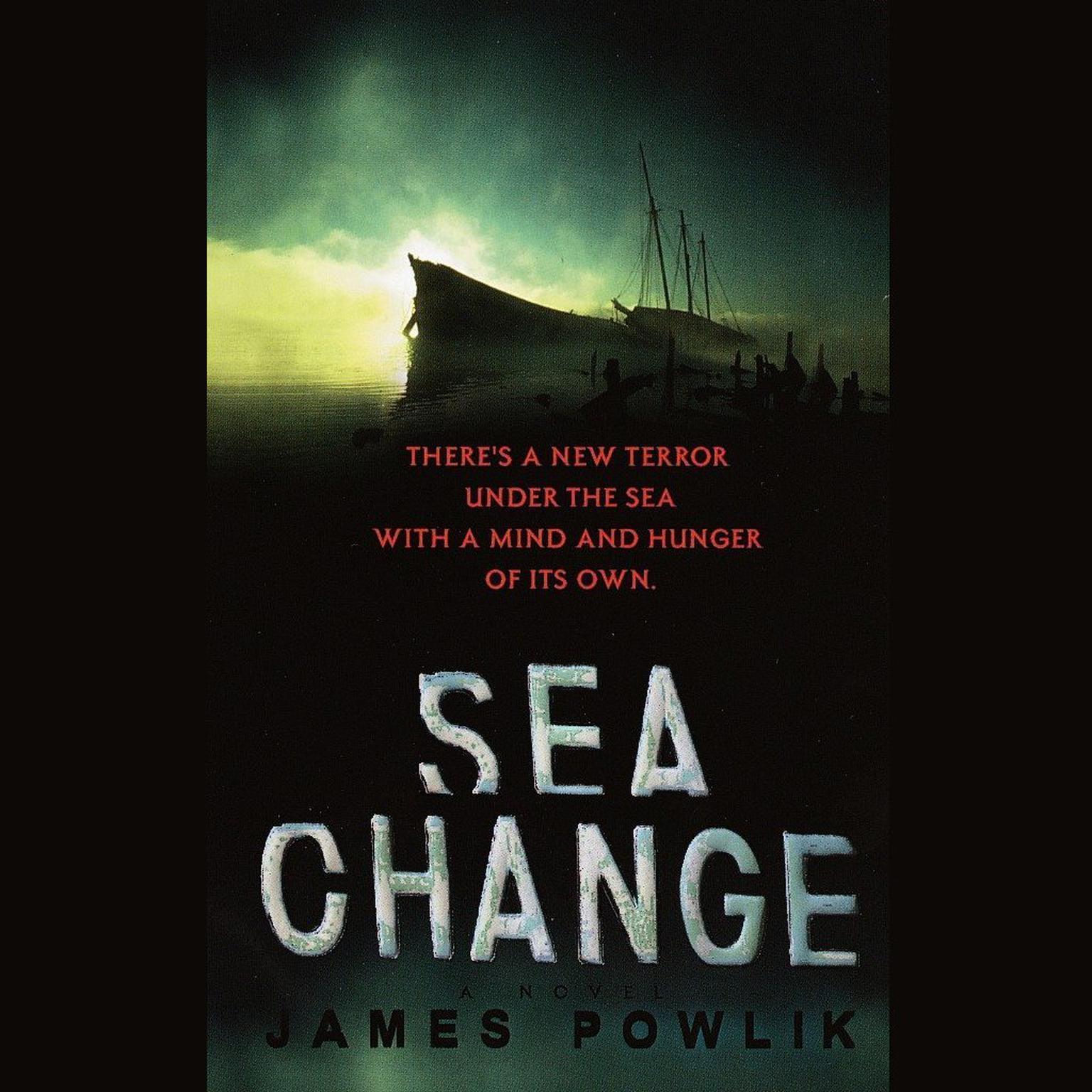 Printable Sea Change Audiobook Cover Art