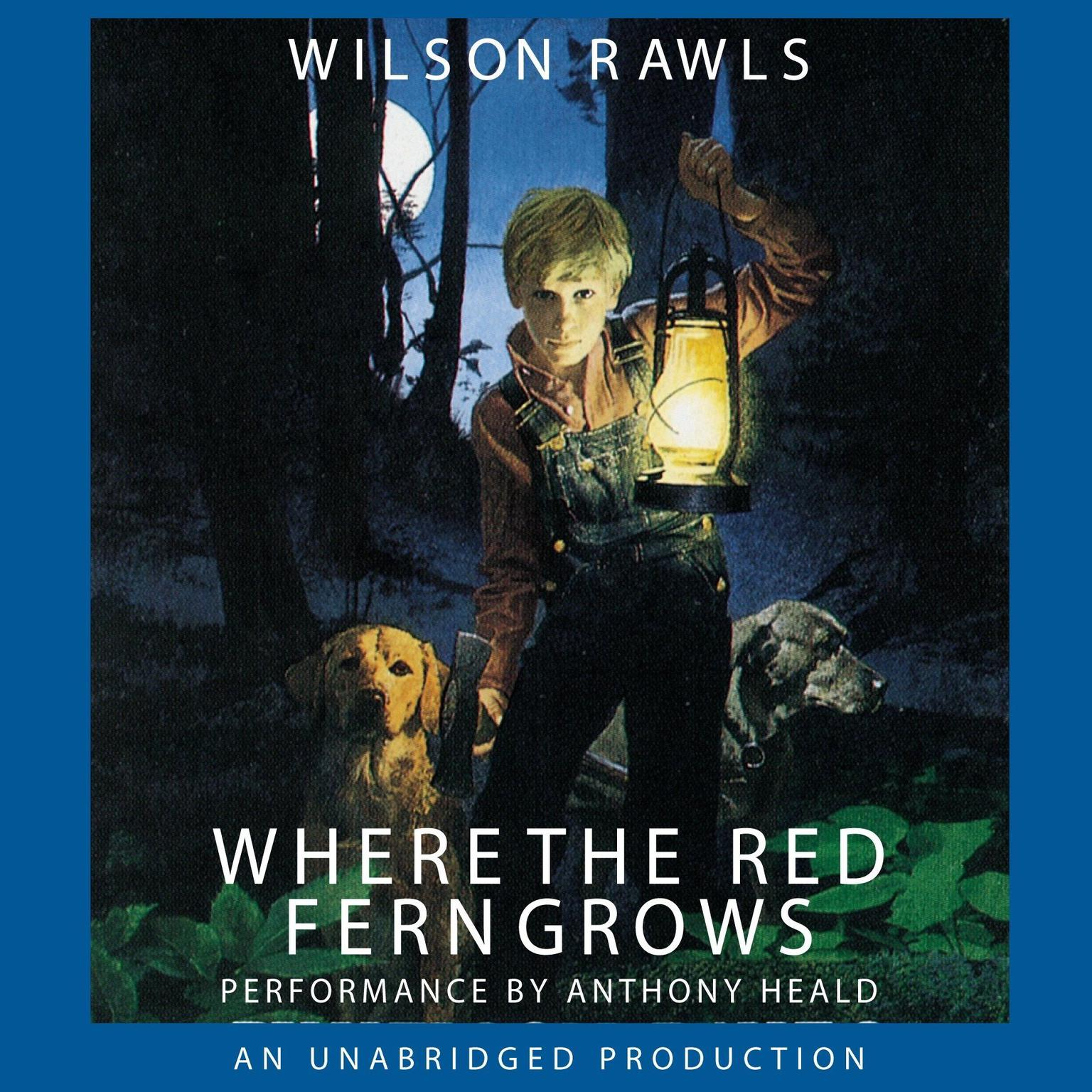 Printable Where the Red Fern Grows Audiobook Cover Art
