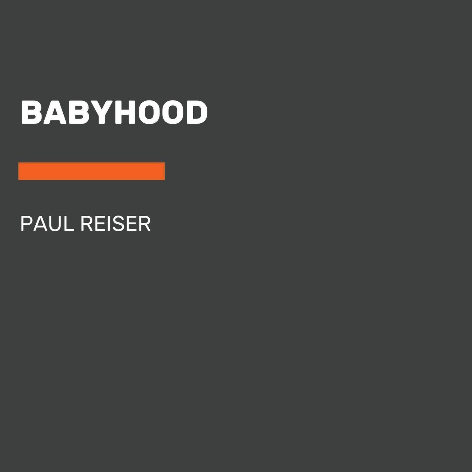 Printable Babyhood Audiobook Cover Art