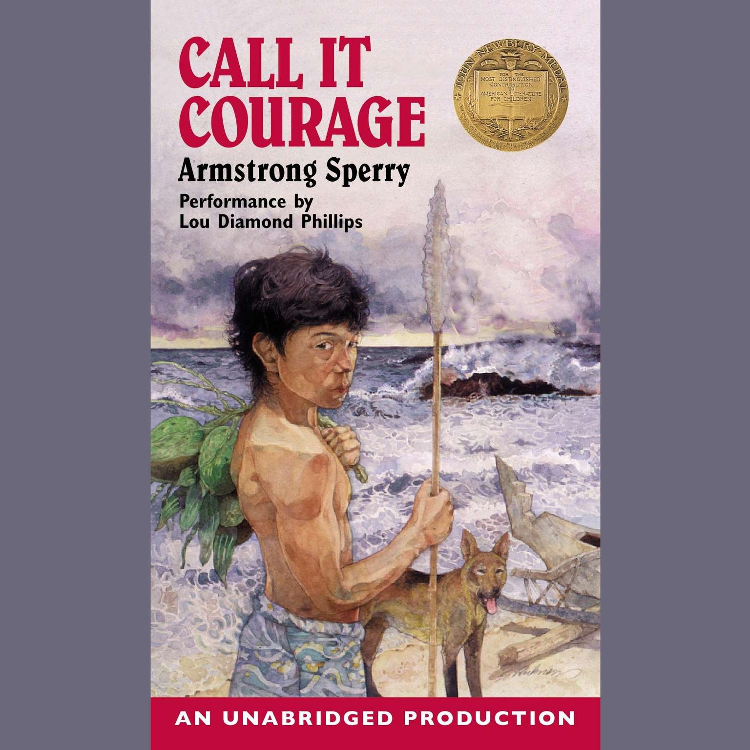 Printable Call it Courage Audiobook Cover Art