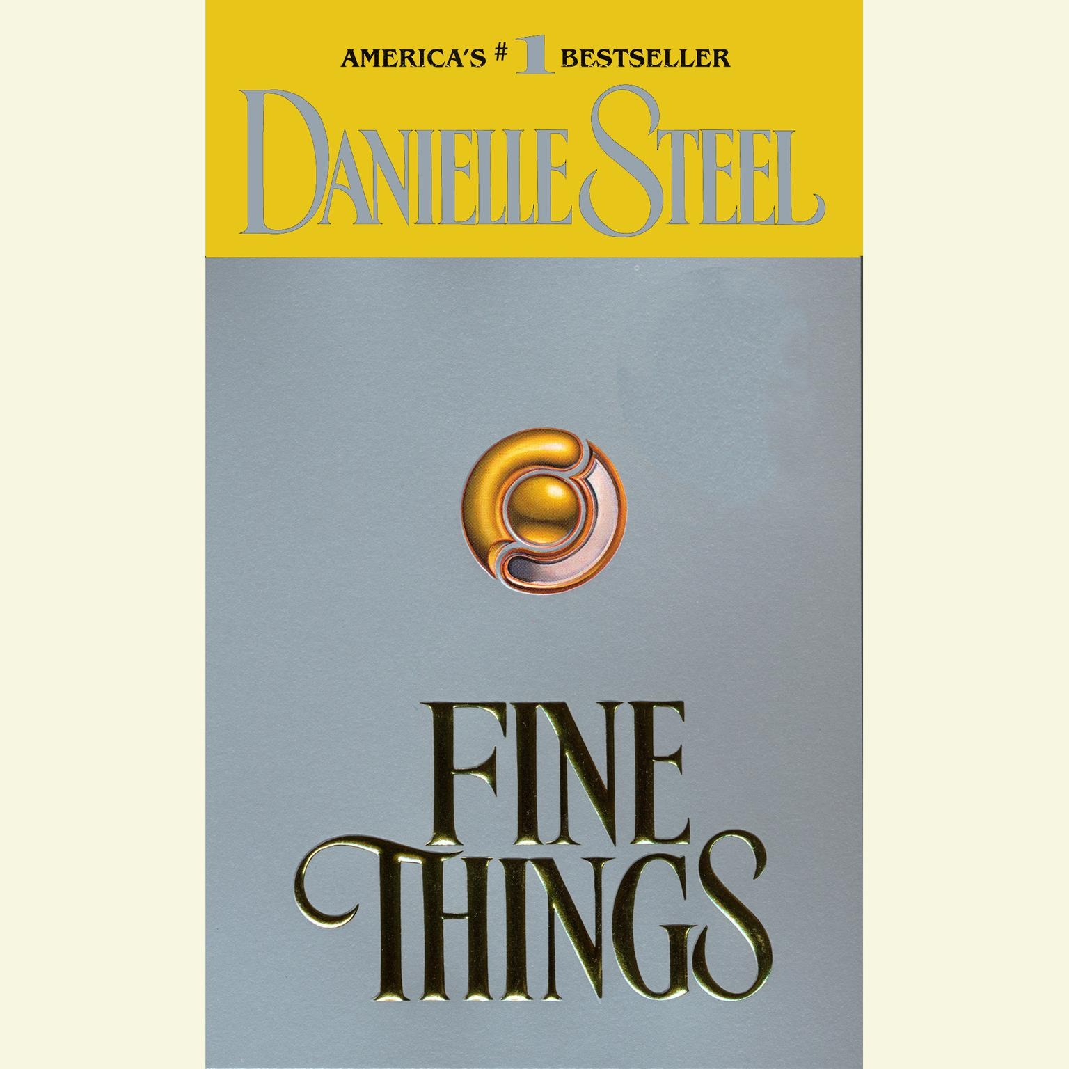 Printable Fine Things Audiobook Cover Art