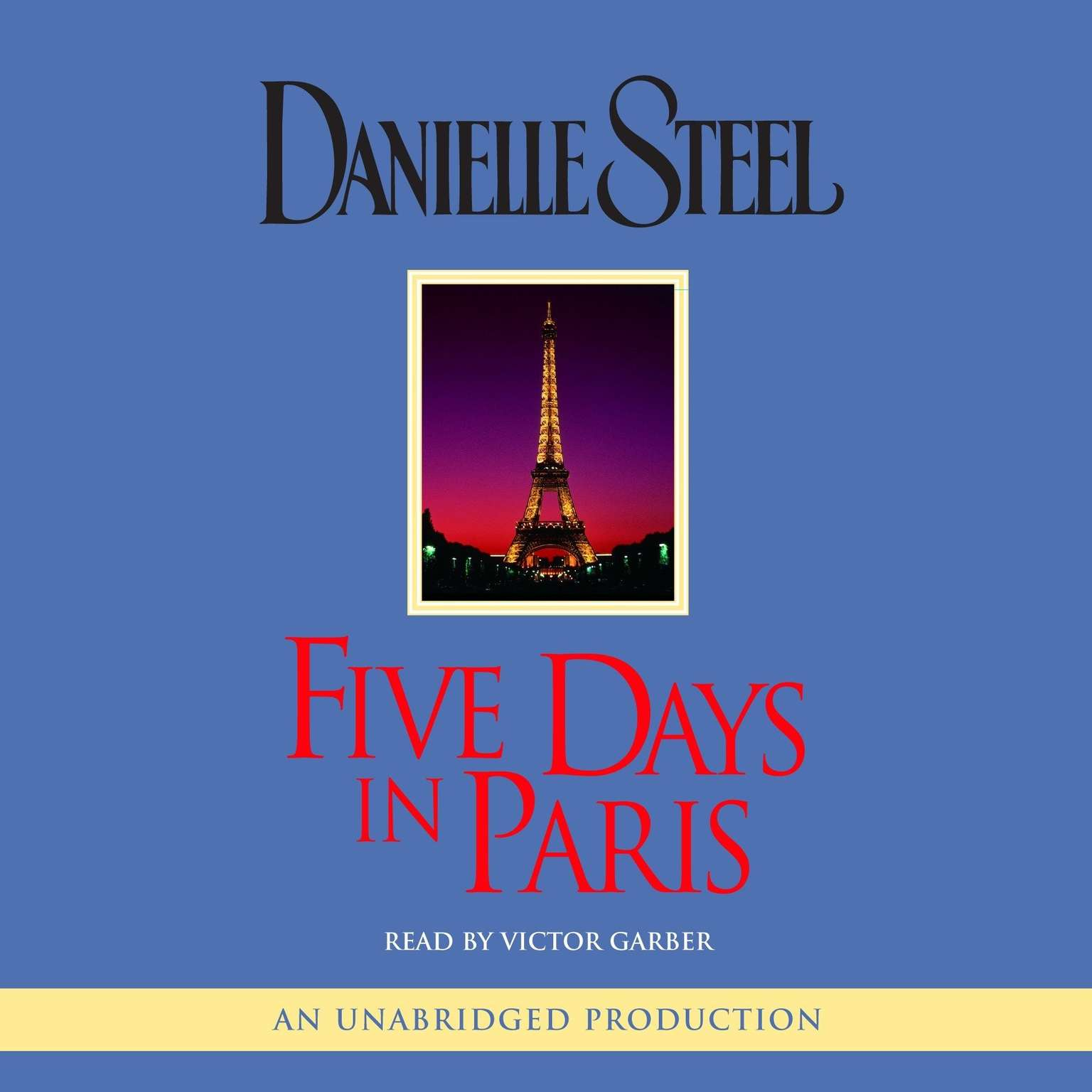 Printable Five Days in Paris Audiobook Cover Art