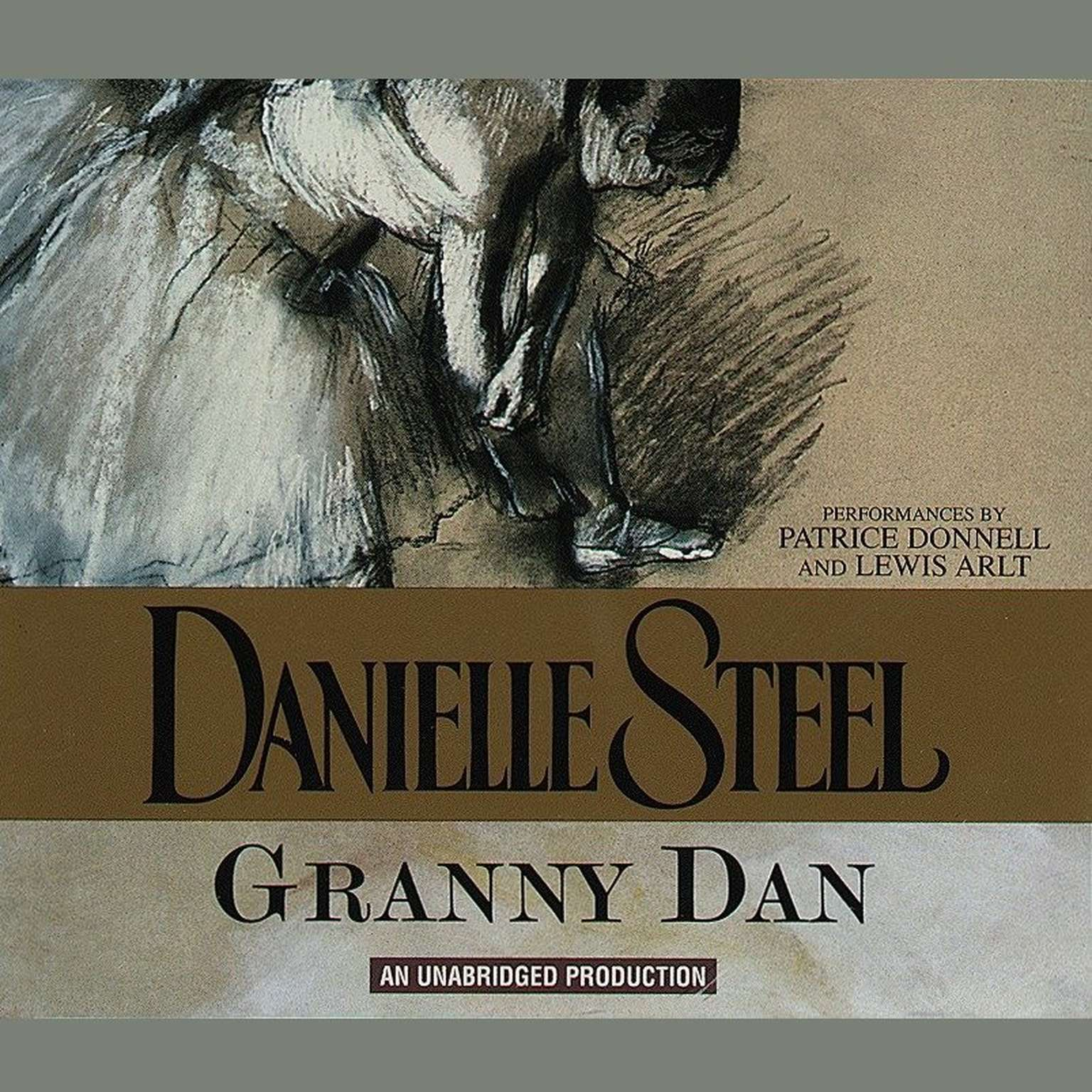 Printable Granny Dan Audiobook Cover Art
