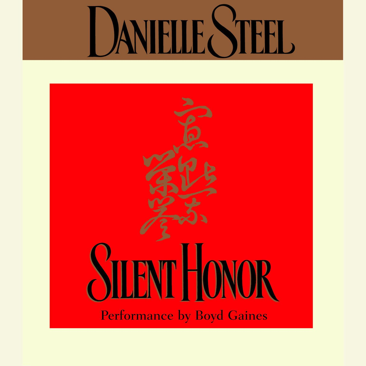 Printable Silent Honor Audiobook Cover Art
