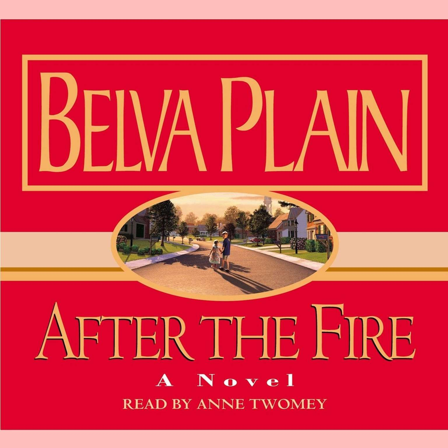 Printable After the Fire Audiobook Cover Art
