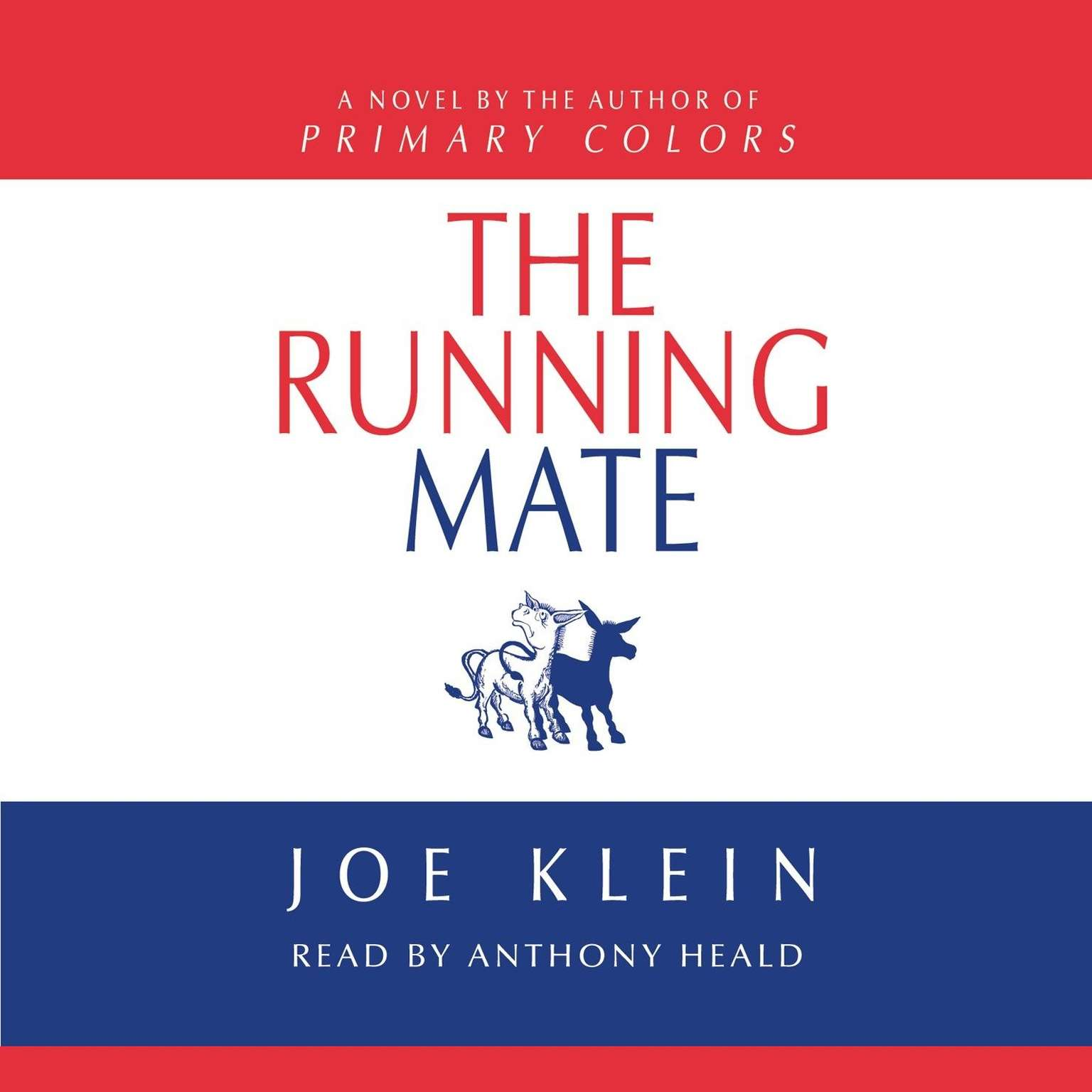 Printable The Running Mate Audiobook Cover Art
