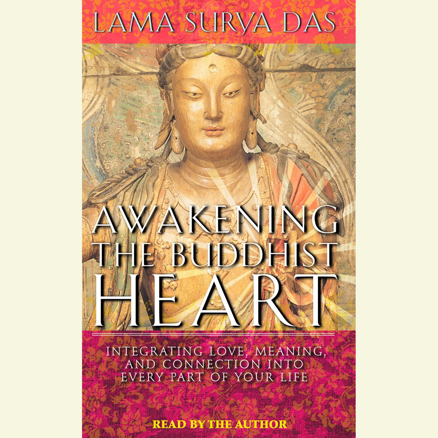 Printable Awakening the Buddhist Heart: Integrating Love, Meaning, and Connection into Every Part of Your Life Audiobook Cover Art