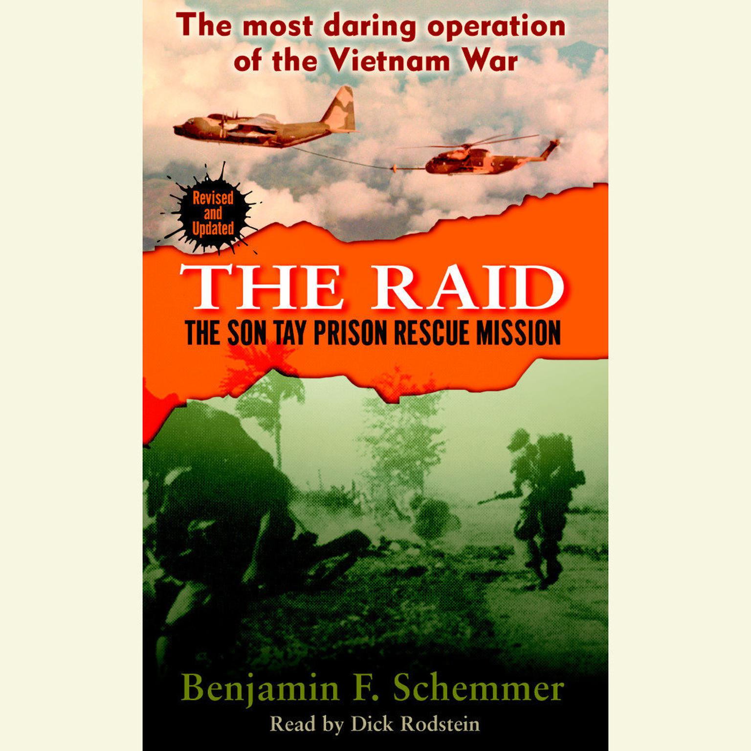 Printable The Raid: The Son Tay Prison Rescue Mission Audiobook Cover Art