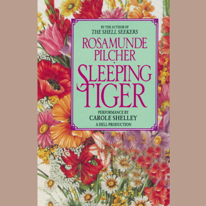 Printable Sleeping Tiger Audiobook Cover Art