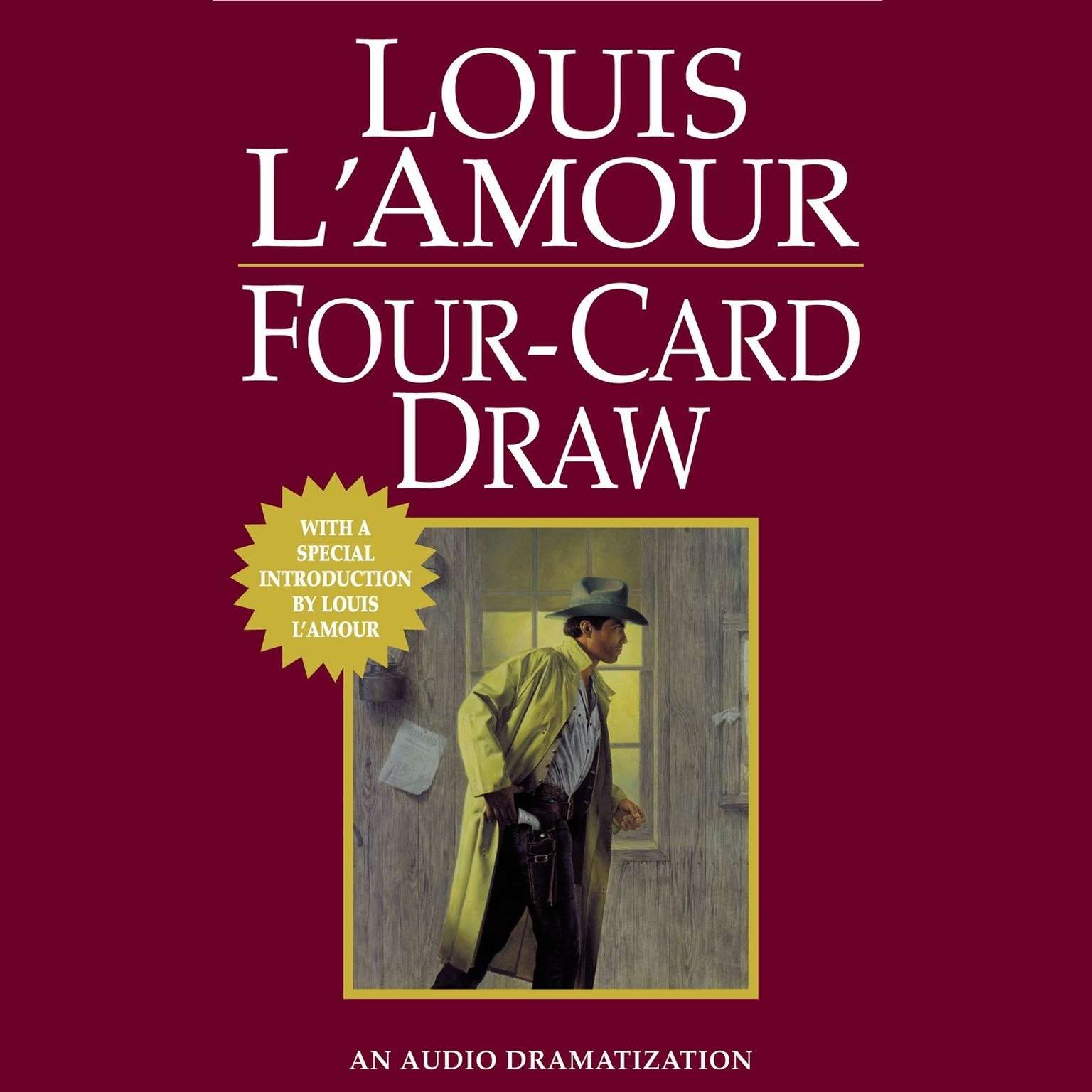 Printable Four Card Draw Audiobook Cover Art